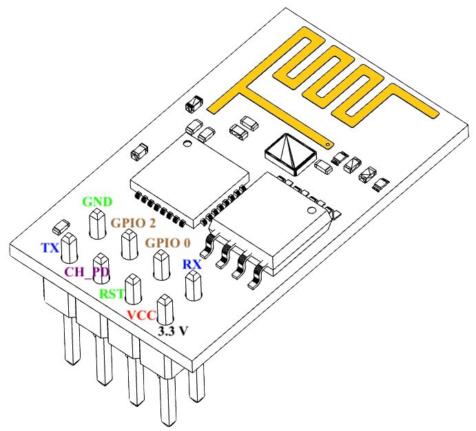 Hooking Up the ESP-01 | Details | Hackaday io