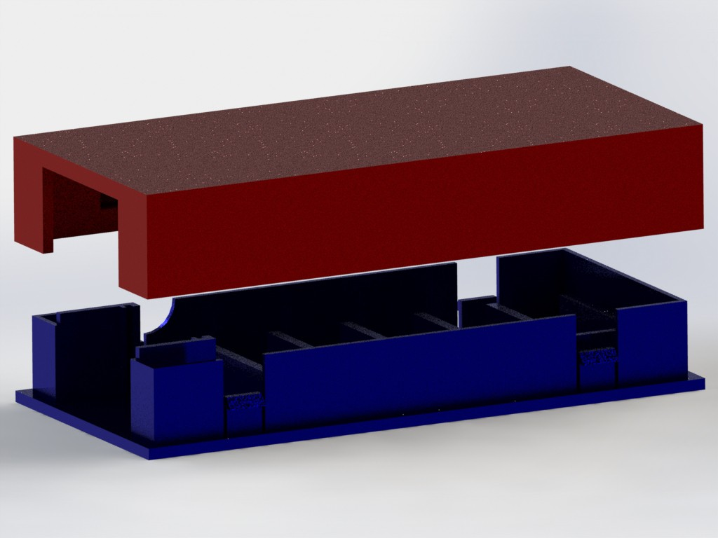 Emp Generator Schematic Draw Of A 3d Model With Solidworks To Print Case