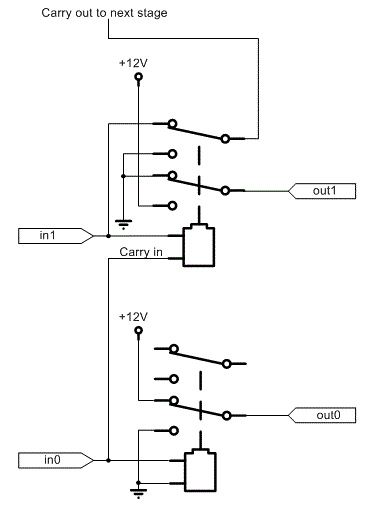relay logic diagram of xor gate  u2013 powerking co