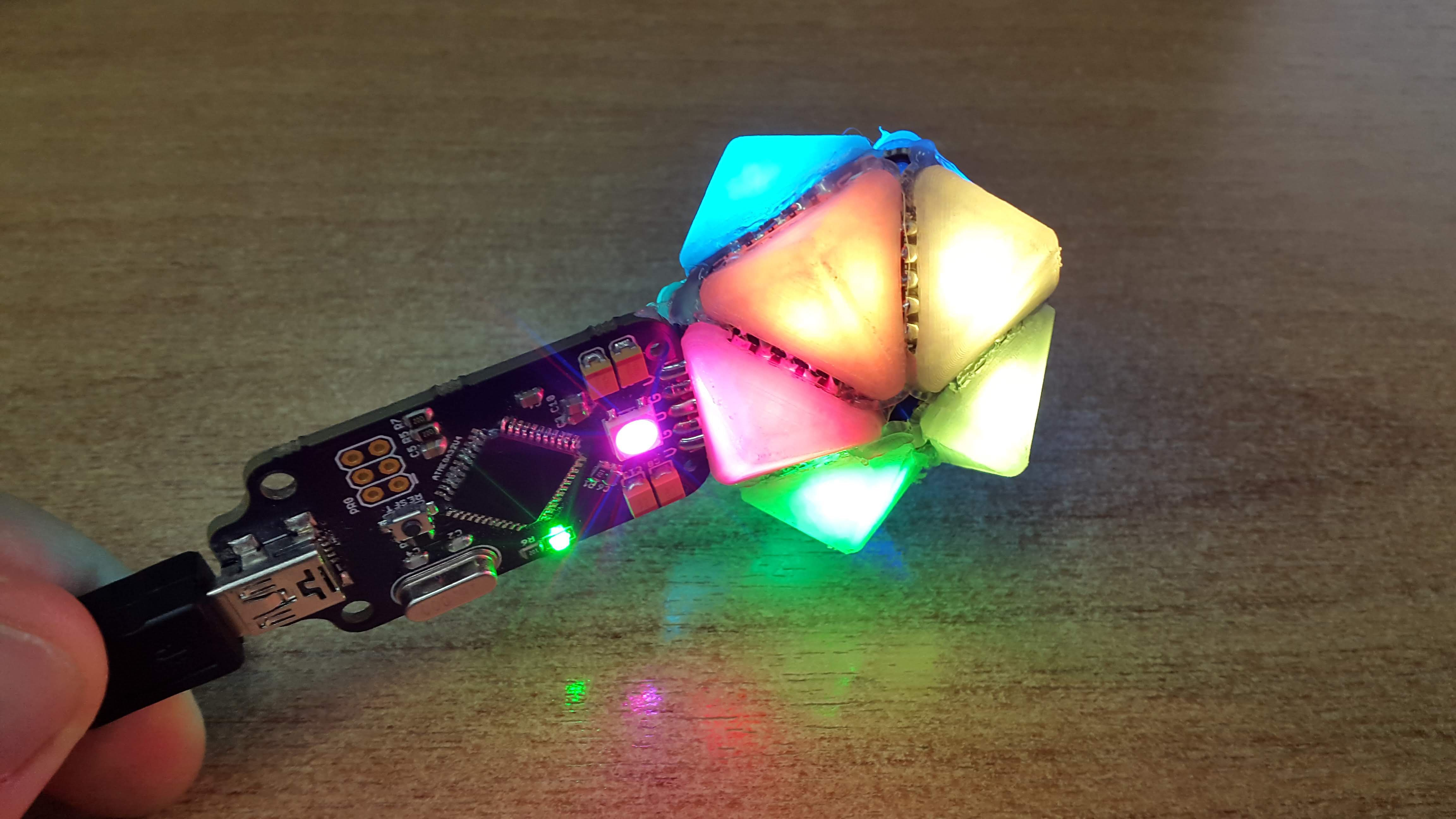 Trixel Led To The Light Emitting Diode Using Snap Circuits Do It Yourself Adding Some Diffuser Elements