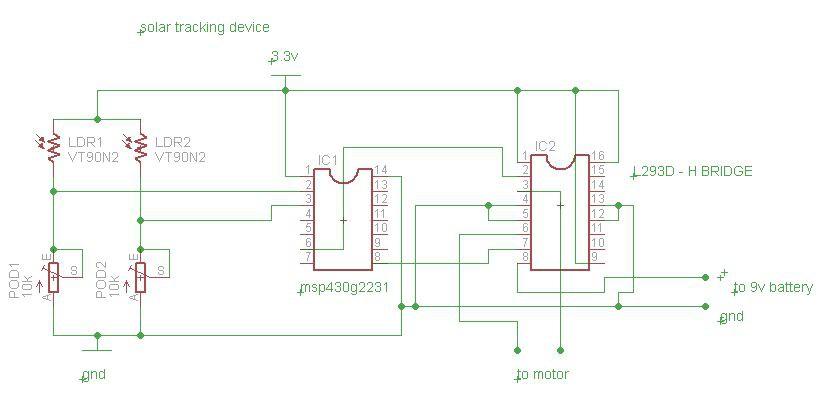 Solar tracker using pmdc motor - SlideShare