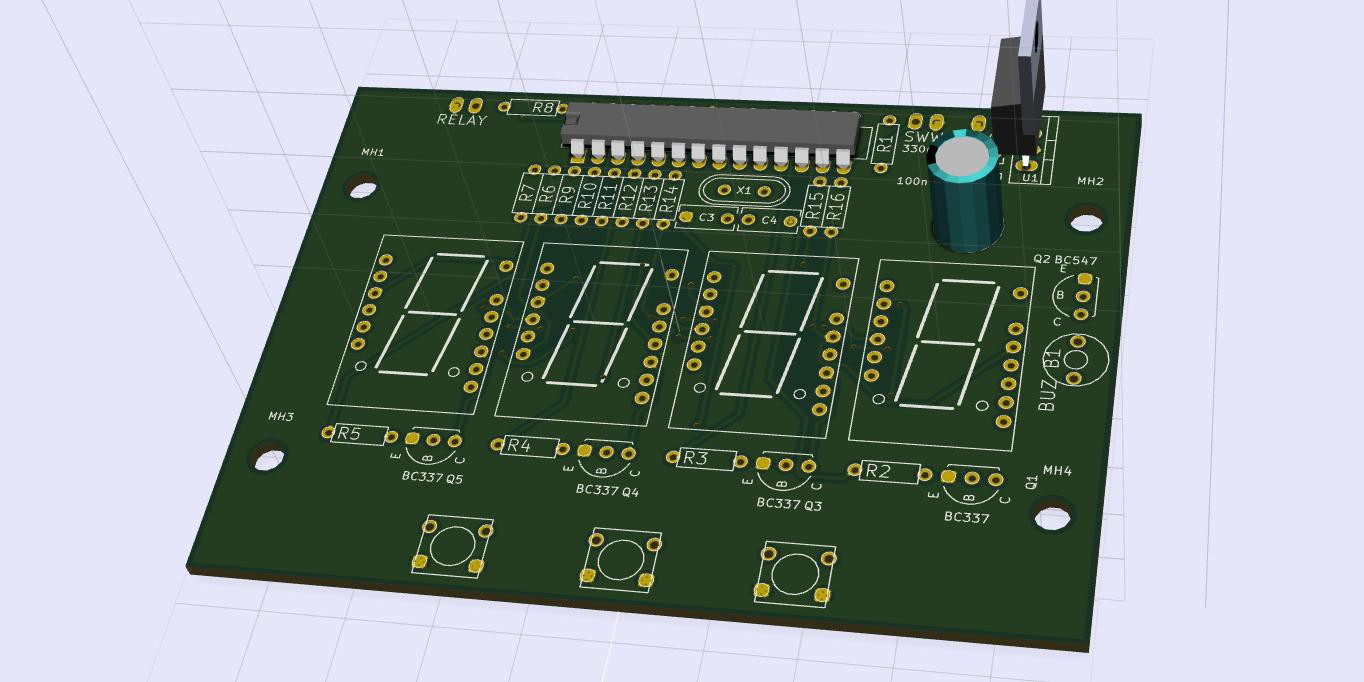 Uv Exposure Box Electronic Ballast Fluorescent Circuit Free Circuits This Will Be Attached To The Lid Of Scanner It Is A Simple Programmable Timer That Flip Lamp Relay On And Off I Post Schematics Pcb