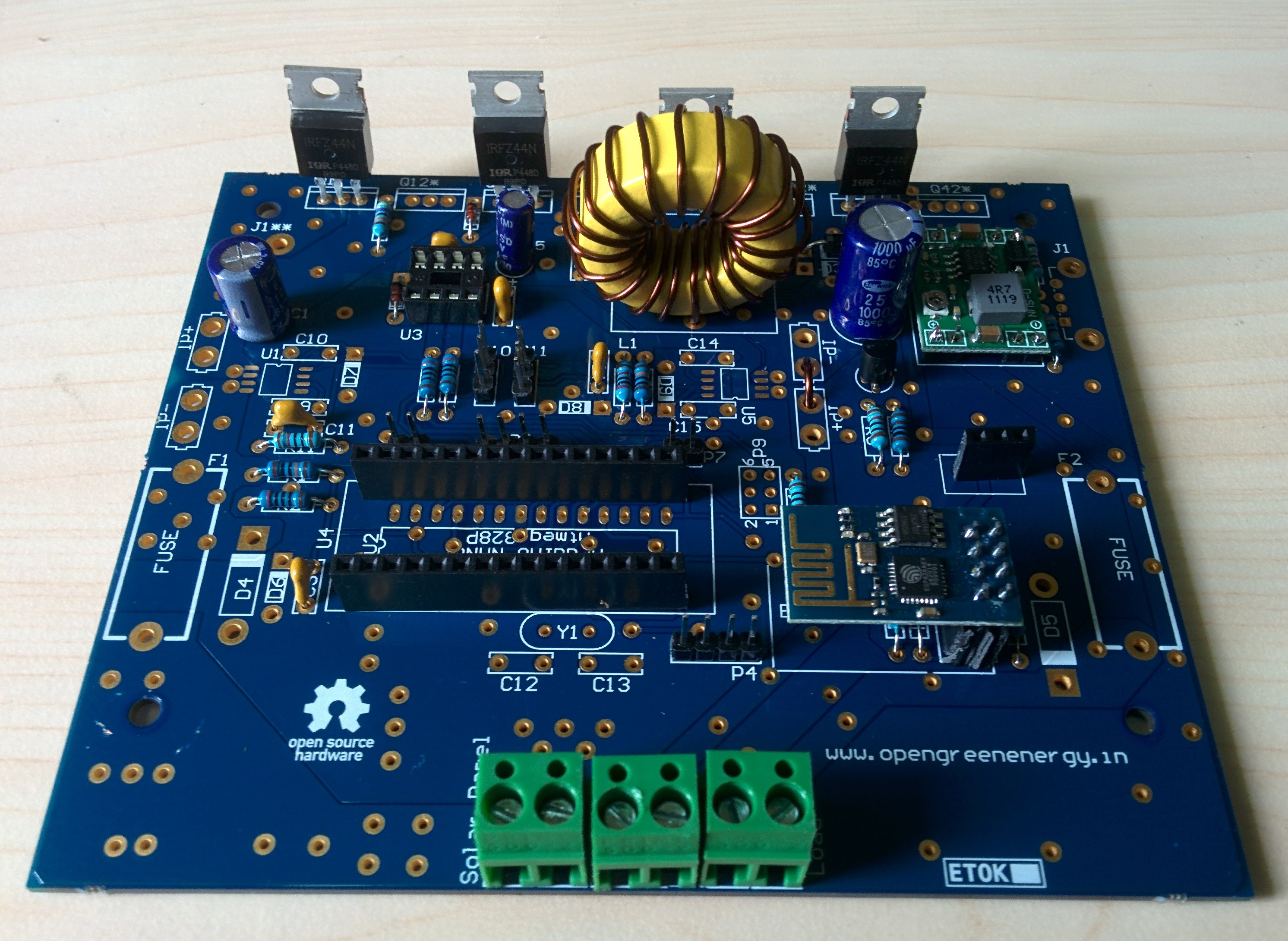 Arduino mppt solar charge controller hackaday
