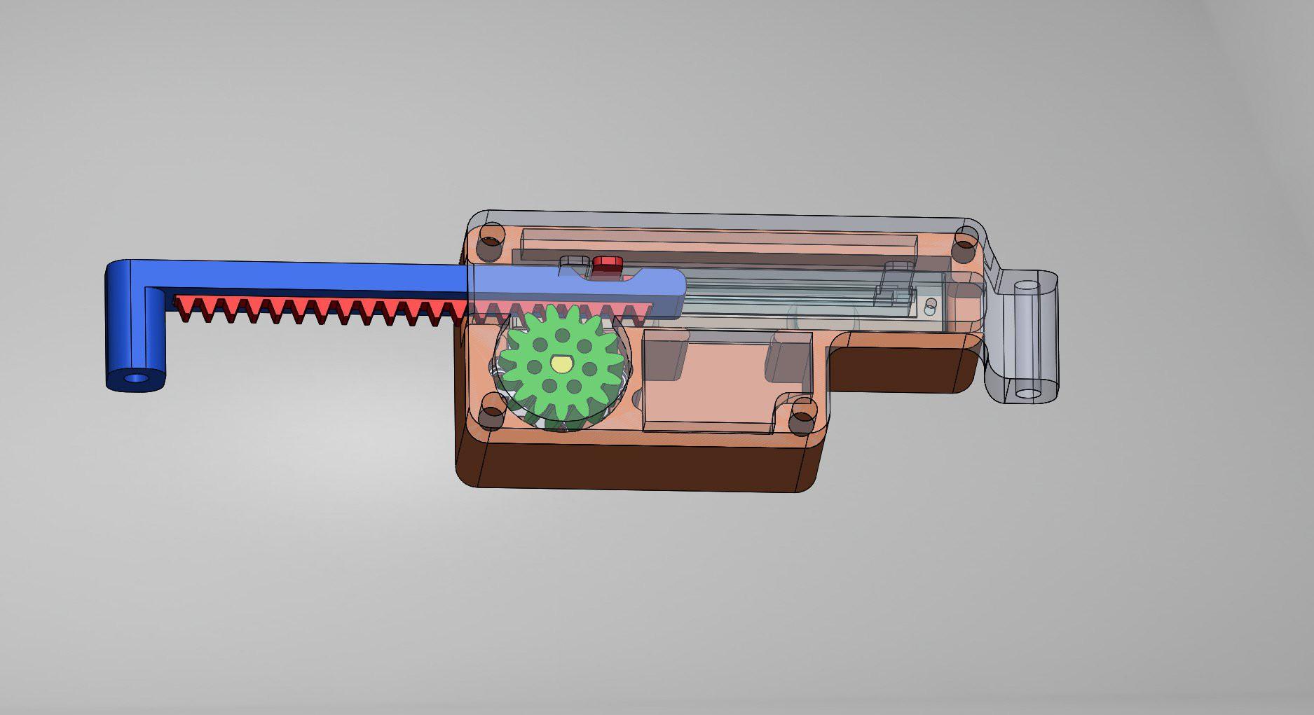 Gallery | 3D-Printed DIY Linear Servo | Hackaday.io