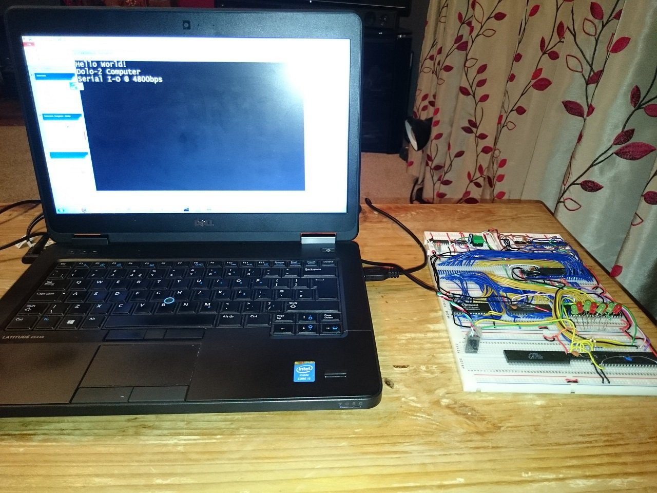 Project 6502 Homebrew Computer Myhobbytronicsblogspotcom 2012 10 555timedelaycircuithtml I Sent The Following Picture To My Friend Sadly He Passed Away Too Young When Was Explaining Basics Of What Had Got Going