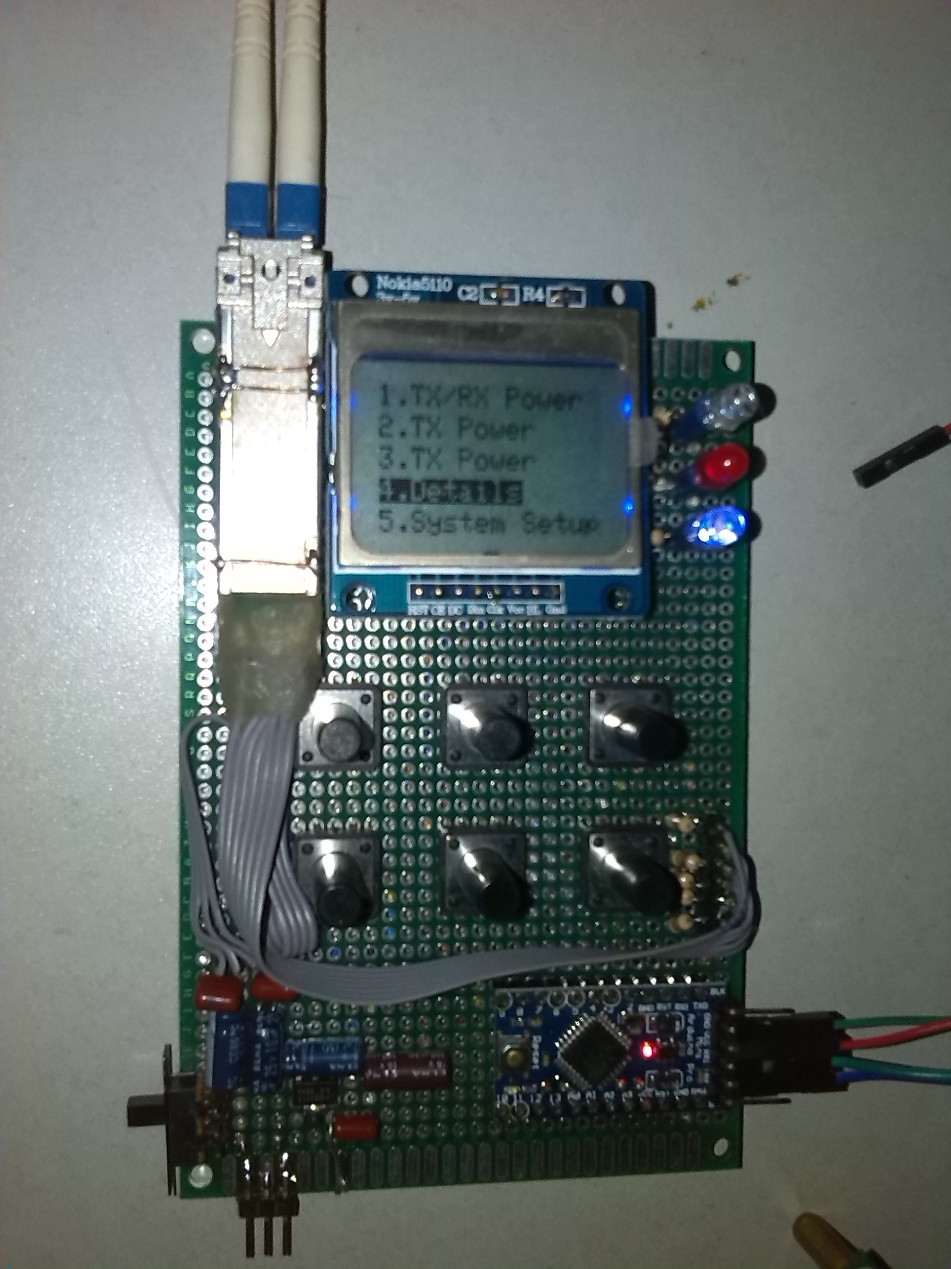 Project | Optical Power Meter (with SFP and DDM protocol