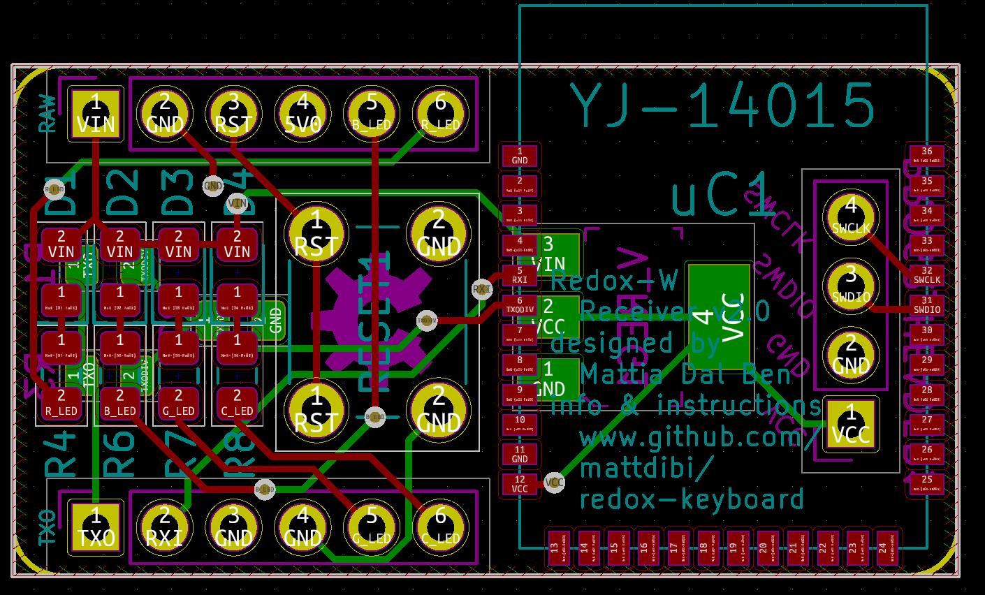 Project   Redox keyboard   Hackaday io
