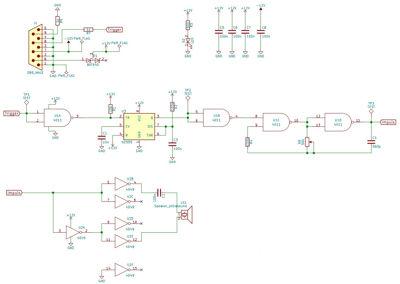 Schematic Diagram First Drafts Details Creating Circuit Diagrams An Overview My Plan Is To Build Sub Modules That Transmit And Receive Both Use The Same Interface Which Will Also Be Used By A Measurement Device