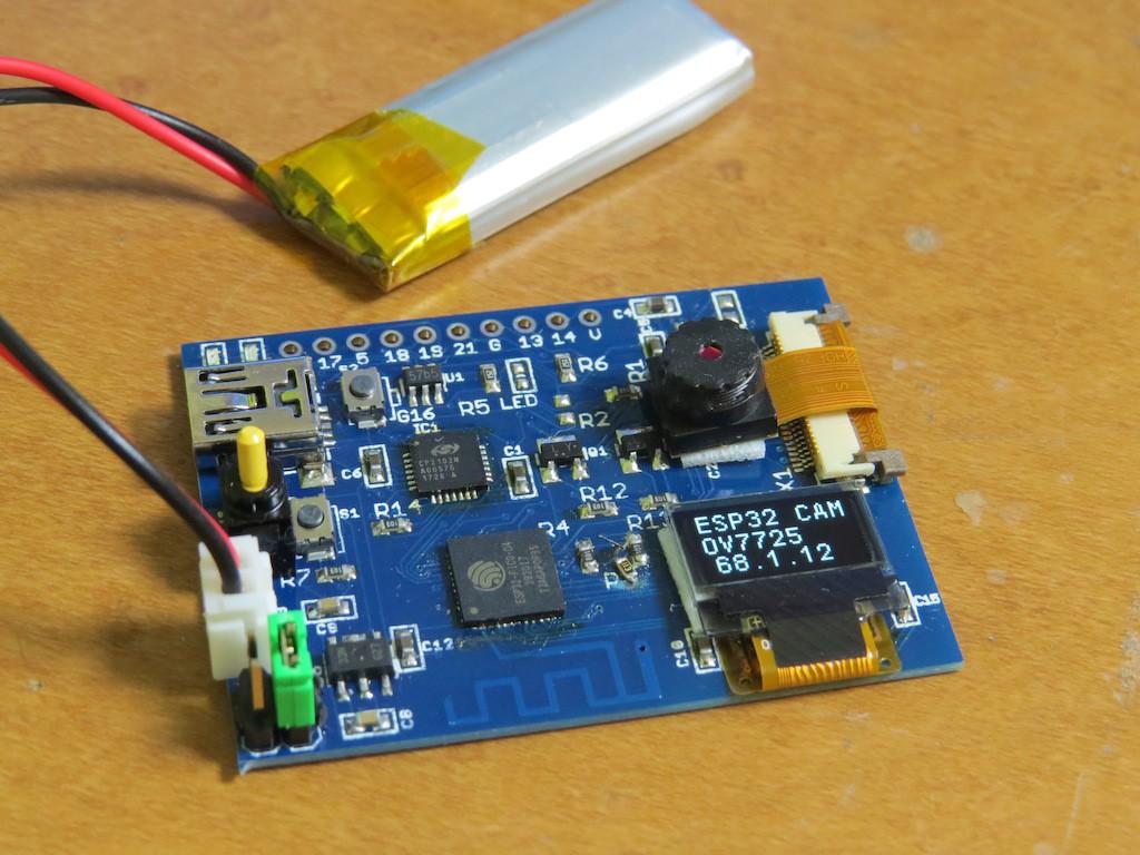 ESP32-PICO-D4 with Camera!! | Details | Hackaday io