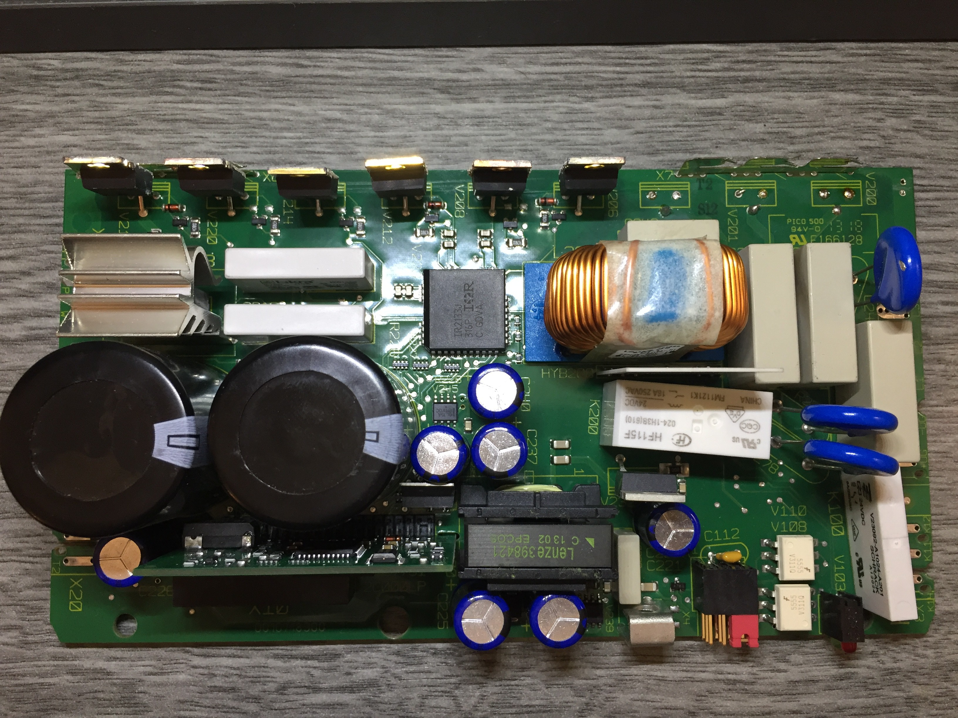 How To Repair Any Vfd Phase Variable Frequency Drive Circuit If You Bend It A Little Bit Can Push The Board Out Metal Heatsink Case