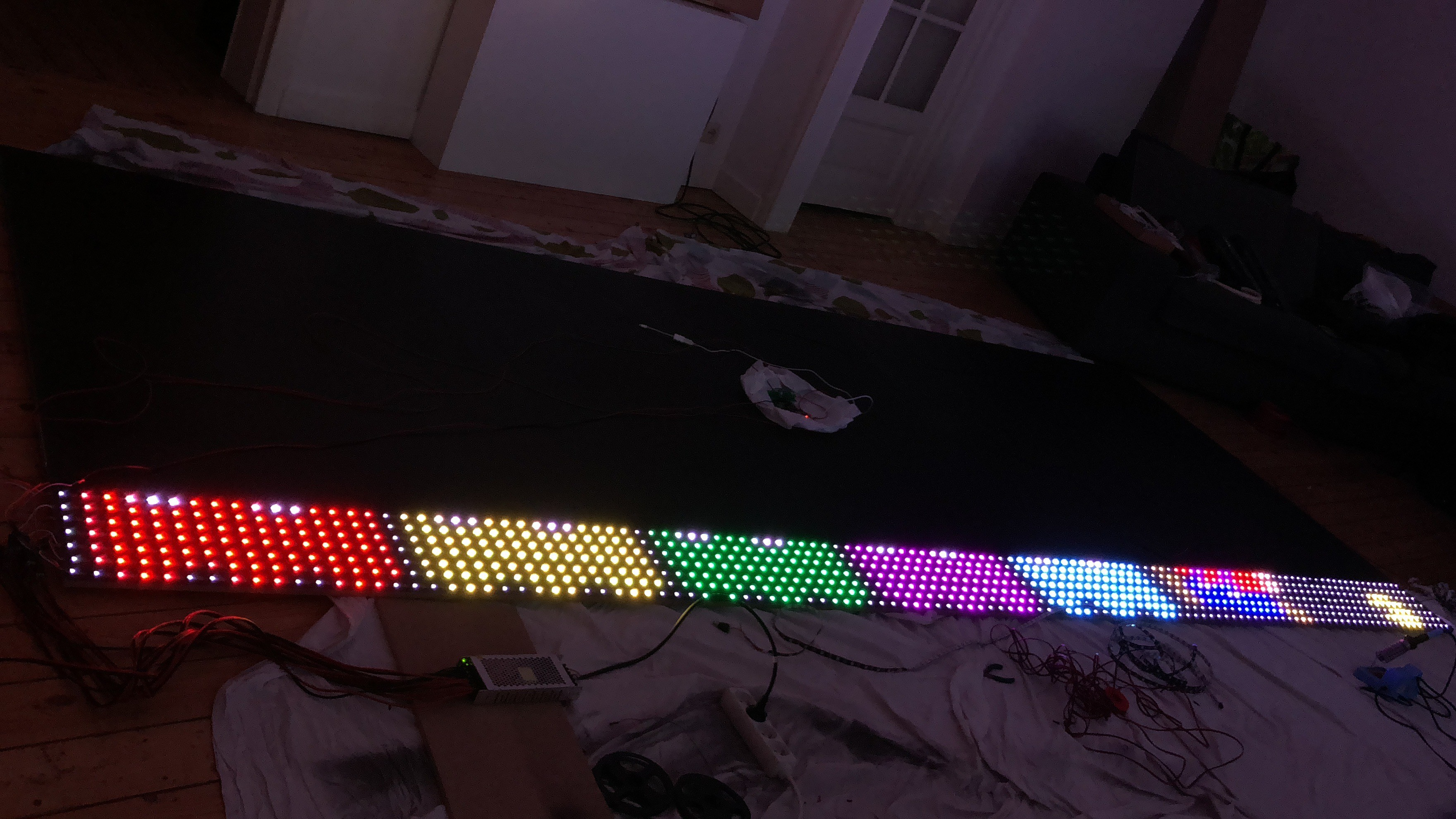 5904 leds panel | Details | Hackaday io