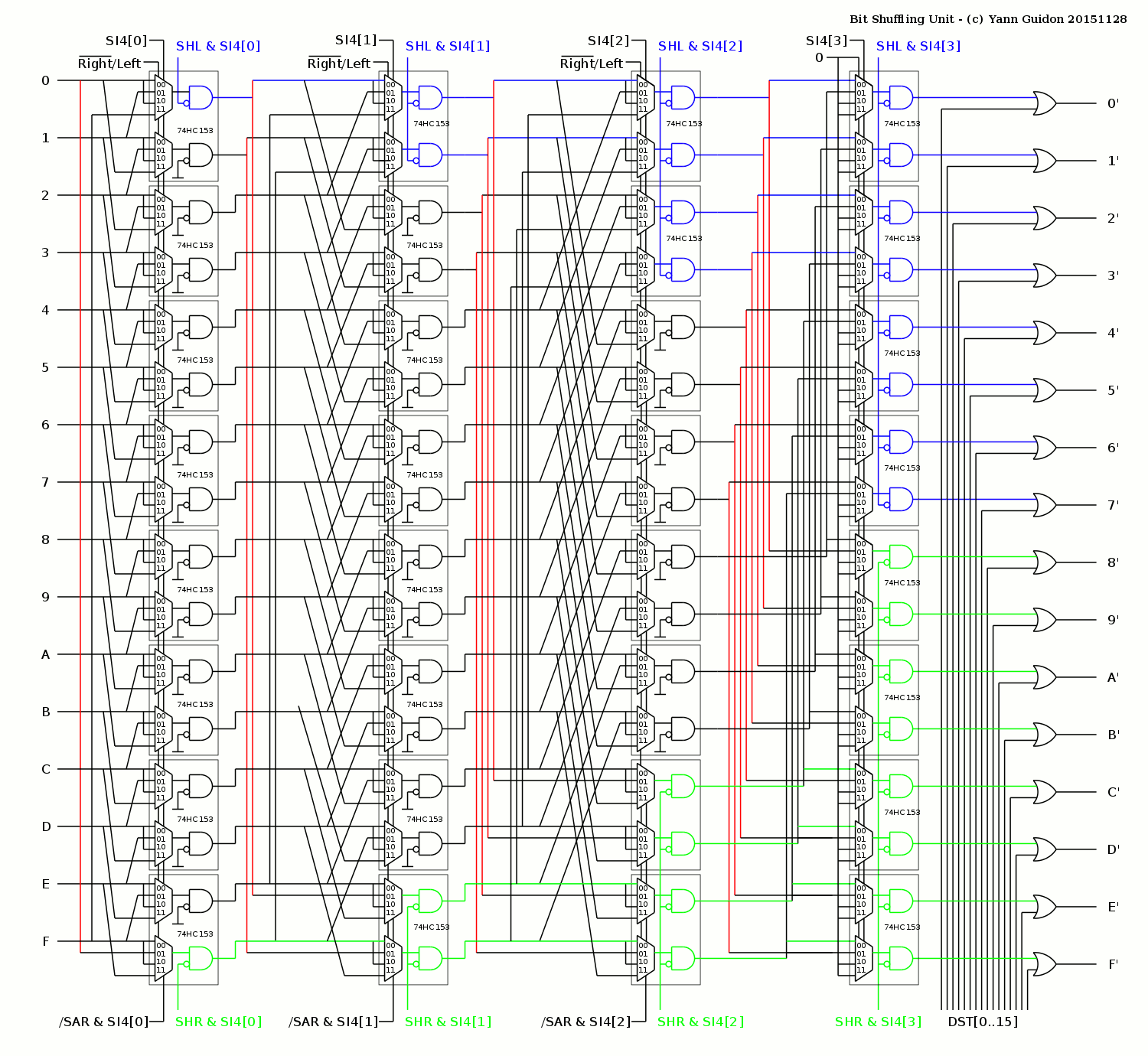 Mux Circuit Diagram Electrical Wiring Of 4 1 Multiplexer Project Discrete Yasep Hackaday Io And Demux 2x1