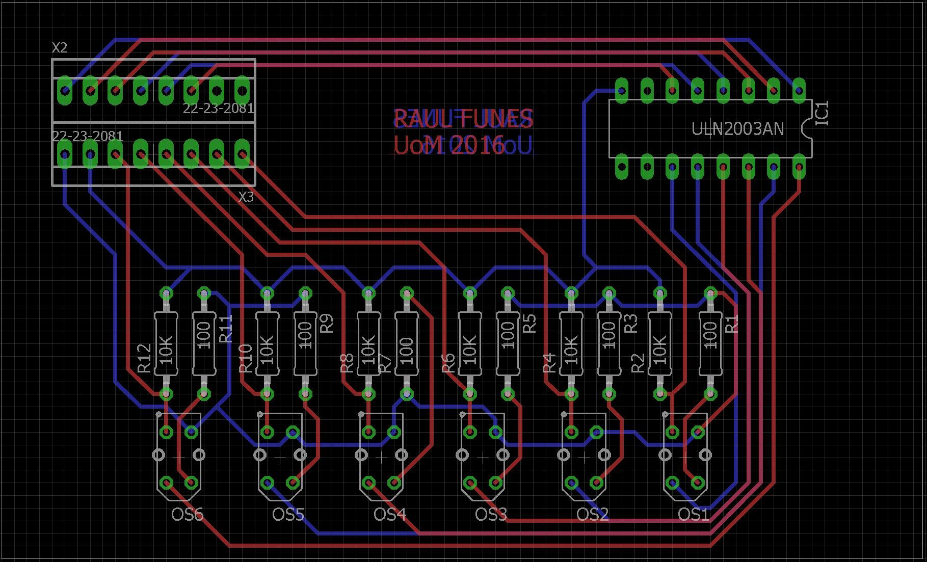 Designing A Pcb For The Line Sensor Array Ii Details Diy How To Create Your Printed Circuit Board O Hackadayio Ill Keep You Posted