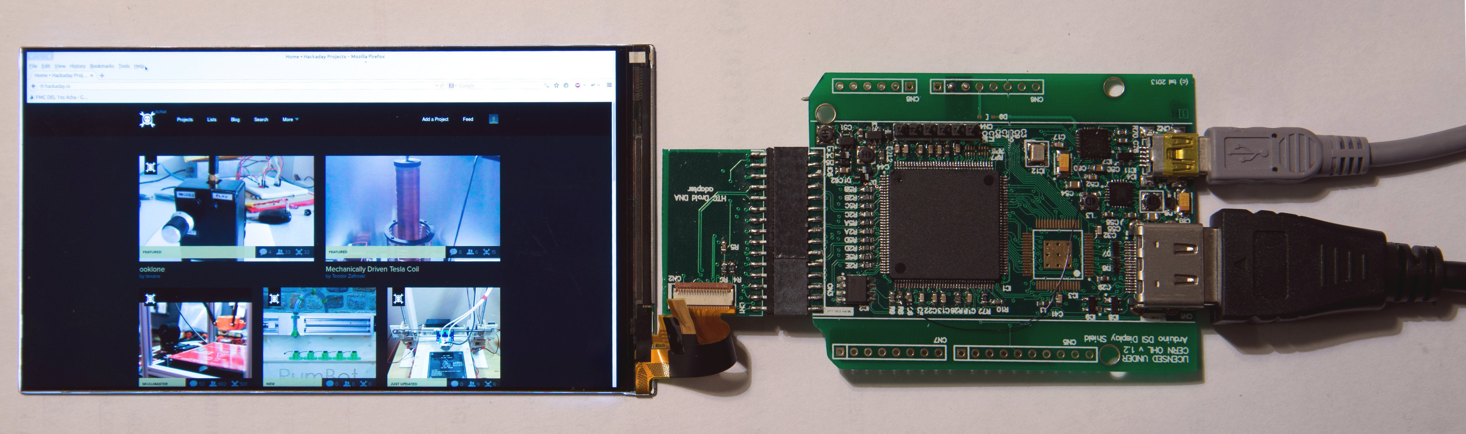Gallery Mipi Dsi Display Shield Hdmi Adapter Hackaday Io