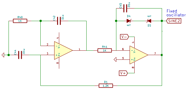 Building Blocks: 15KHz standalone sine wave generator