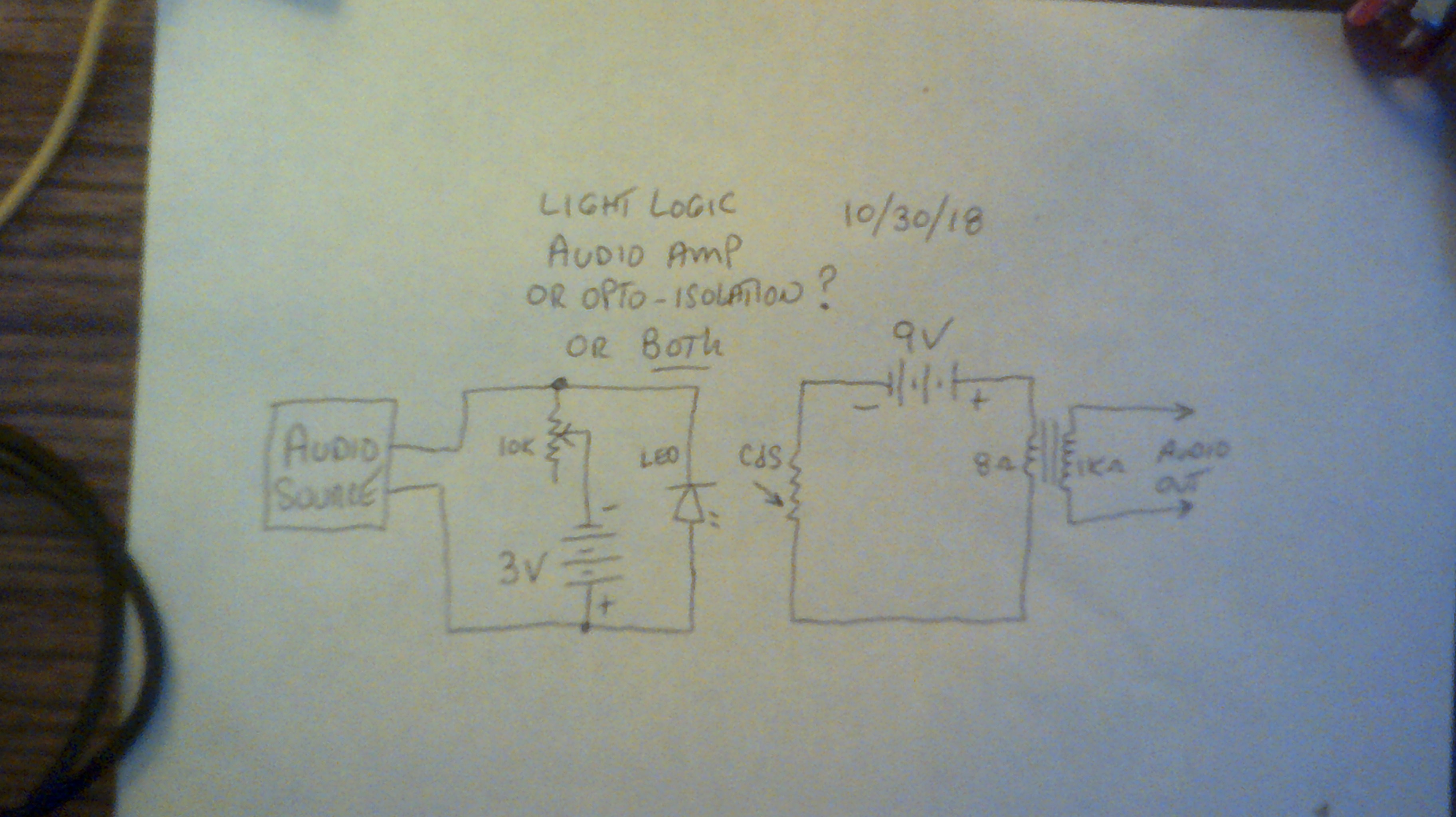 Light Logic Diagram Games There Are Several Passive Preamps Conditioners On The Market But I Want To Mess With This Circuit A Little Then Get Back