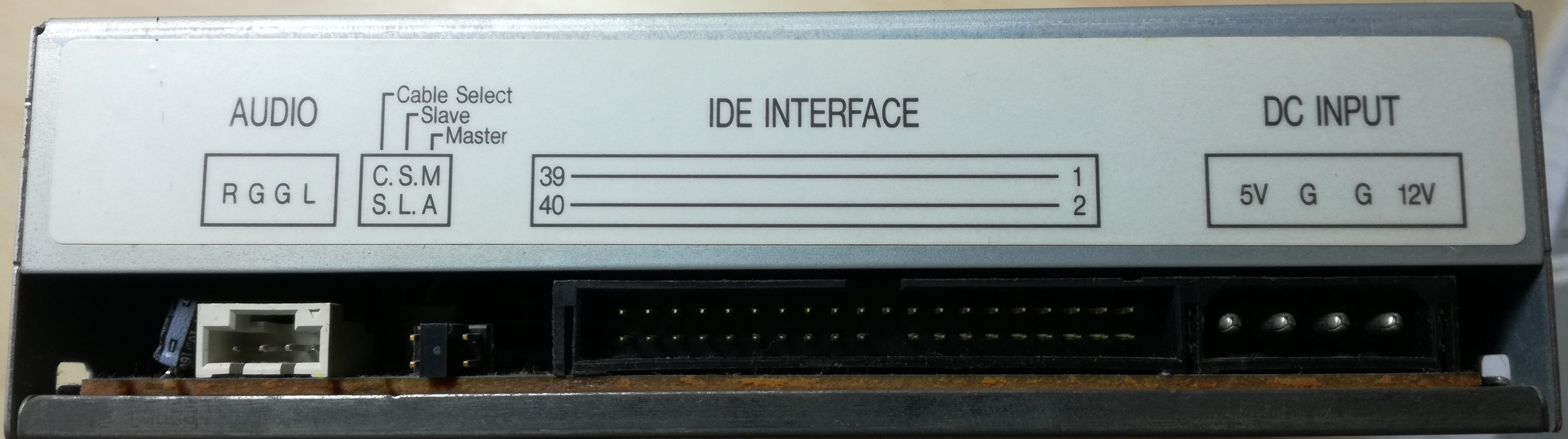 Using old CD-drive as a music player   Hackaday io