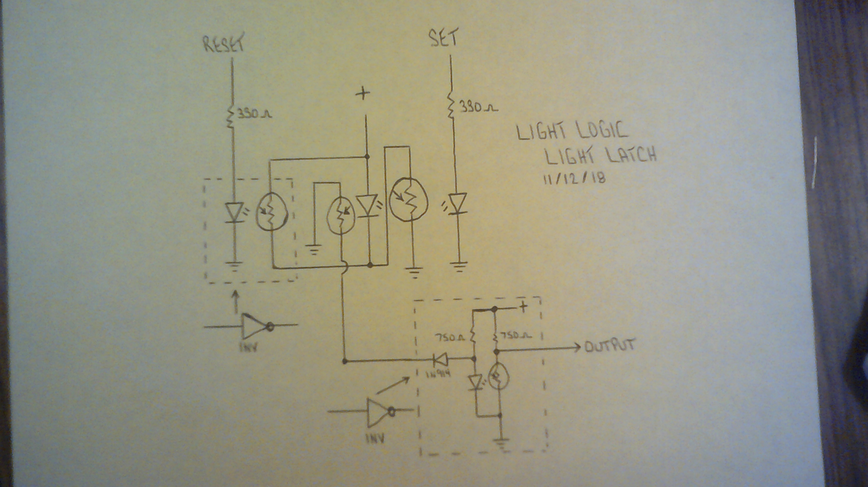 Light Logic Circuit Digram Connecting Seven Segments Led And Ldr View Under The Hood Real Business End Yes Two Leds Ldrs In There