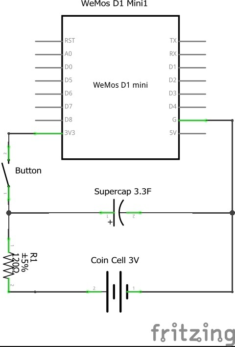 Solved: Esp8266 powered by coin cell   Hackaday io