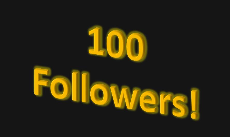 100 Followers! | Details | Hackaday io
