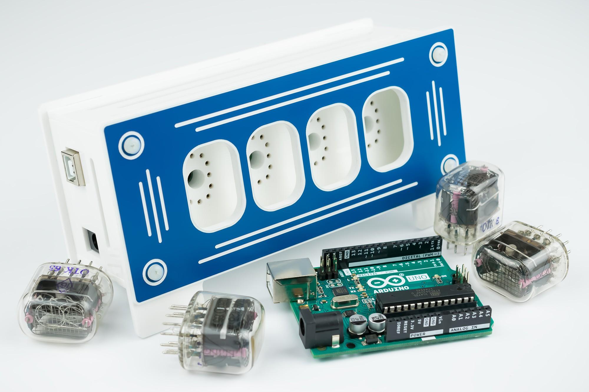Nixie Thermometer Hygrometer - Shield for Arduino   Hackaday io