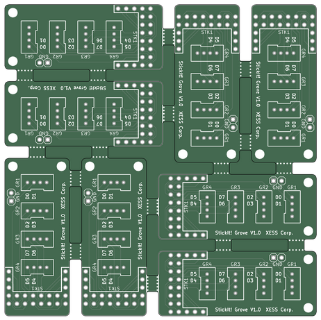 Project | Small PCBs for panelizing + tutorial | Hackaday io