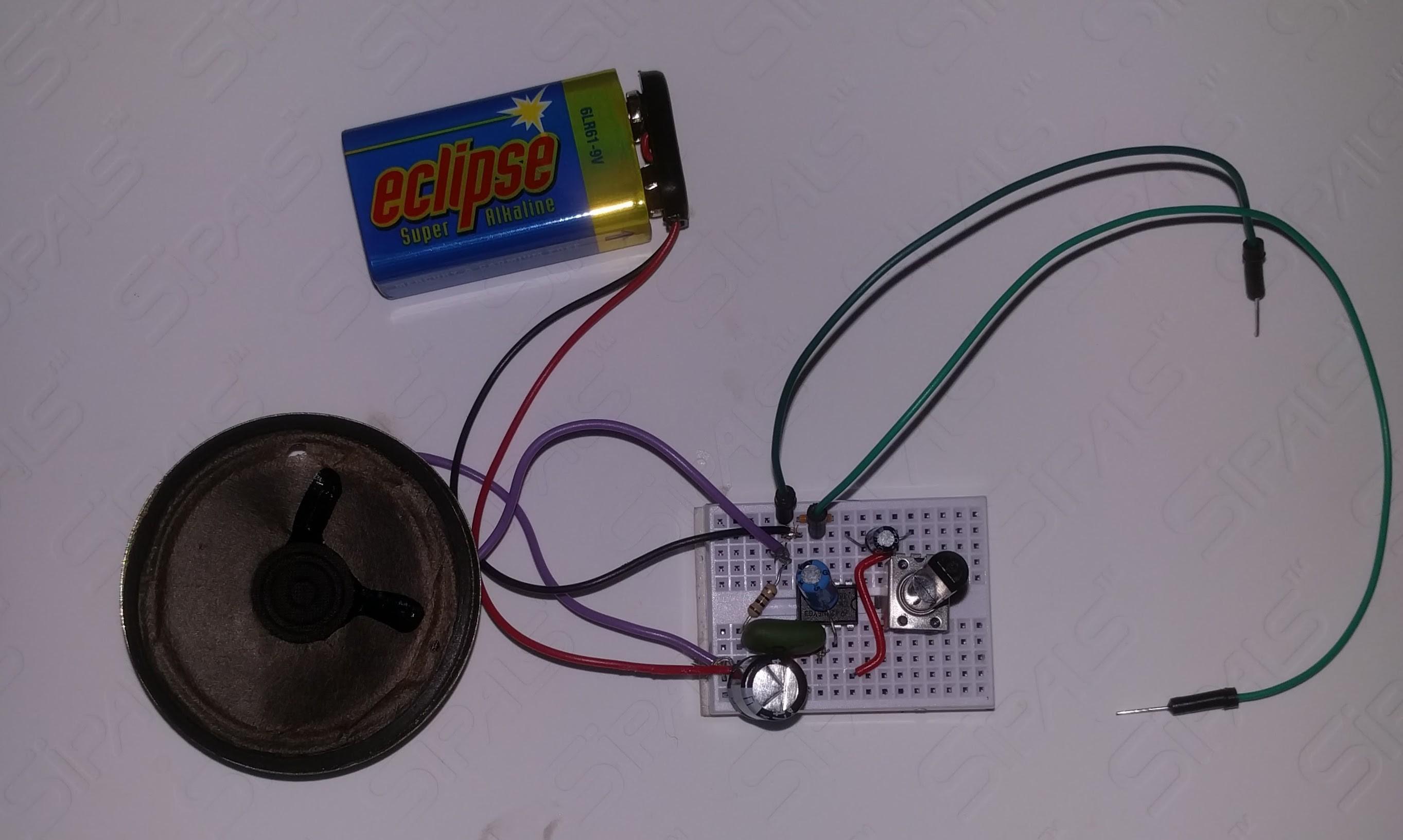 Ultrasonic Directional Speaker V1 Stage Sound Wiring Diagram It Plays Nouvelle Vague Just Fine