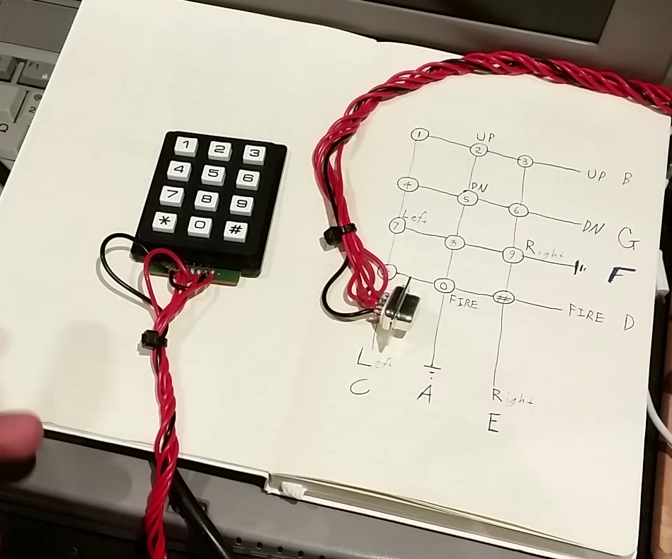 The Keypad Joypad - Amiga, Atari, C64    | Hackaday io