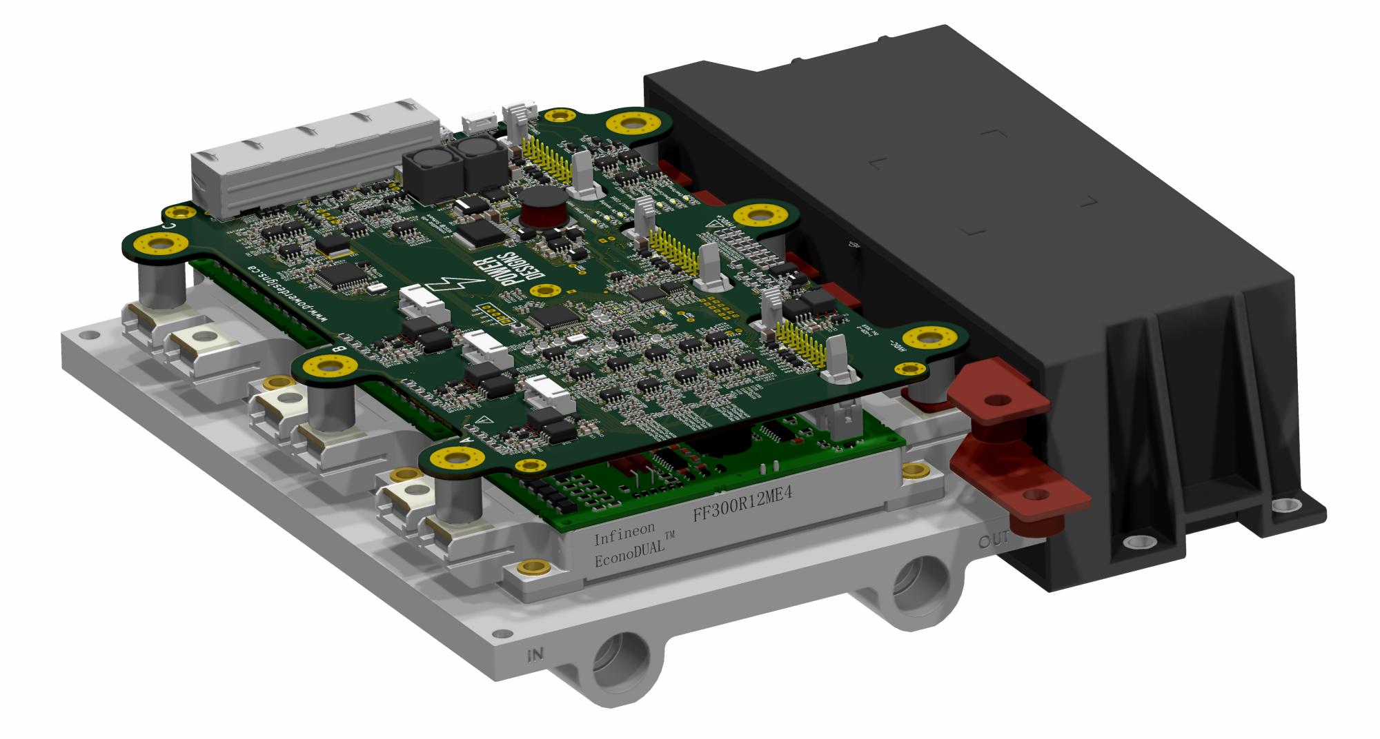 Axiom: 100+kW Motor Controller   Hackaday io