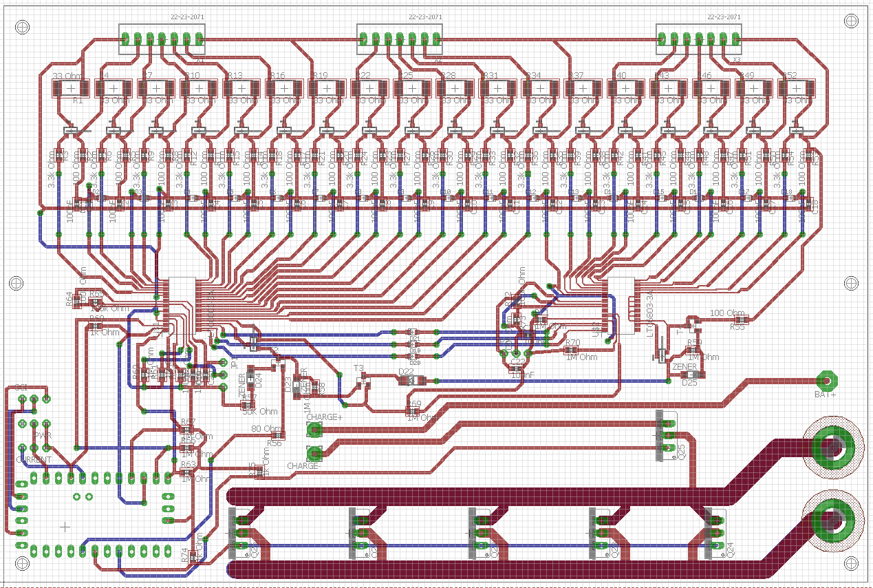 E Kart The Electric Go Details Does A Simple Motor Work On Wiring Diagrams For Dc Motors Here We Are Using Ltc6803 3 Multi Cell Monitoring Ic Each Chip Can Handle Minimum Of 4 Cells And Maximum 12 There 2 Cascaded In Order To