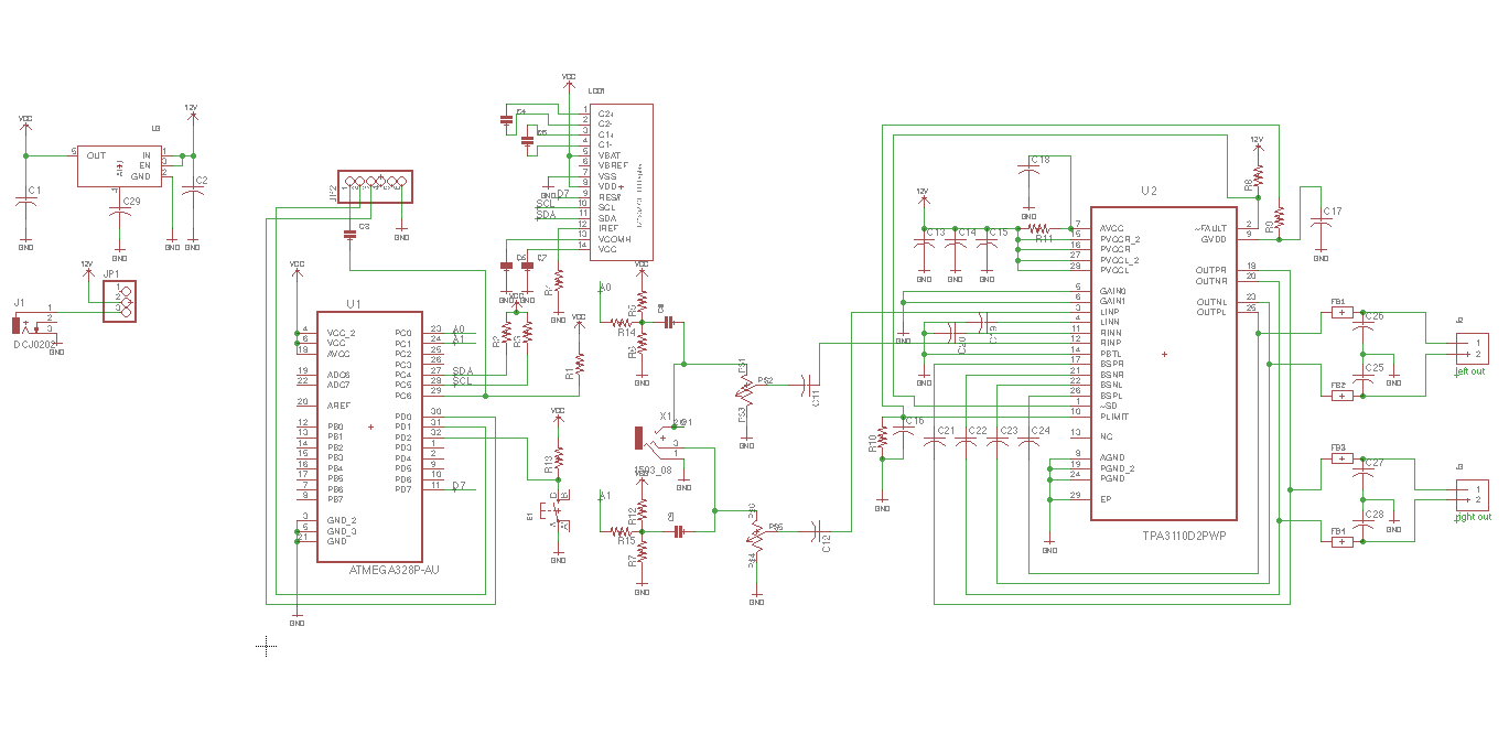 Happy Amplifier Class D Circuit Diagram This Is The Total Schematic Ive Experienced Wonderful Sound Quality Of Tpa3110 At Nutube And It Transferred To Amp