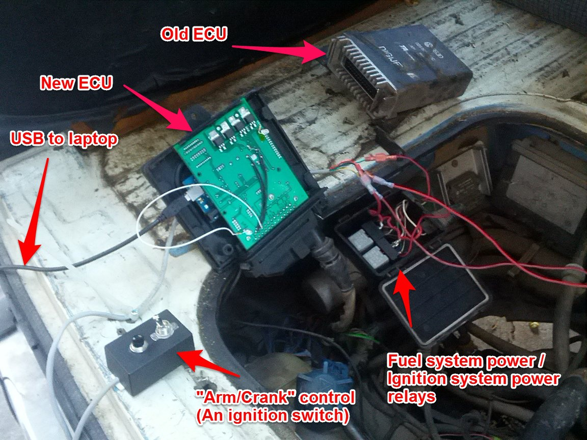 ecuality1 • hackaday io first successful vanagon test
