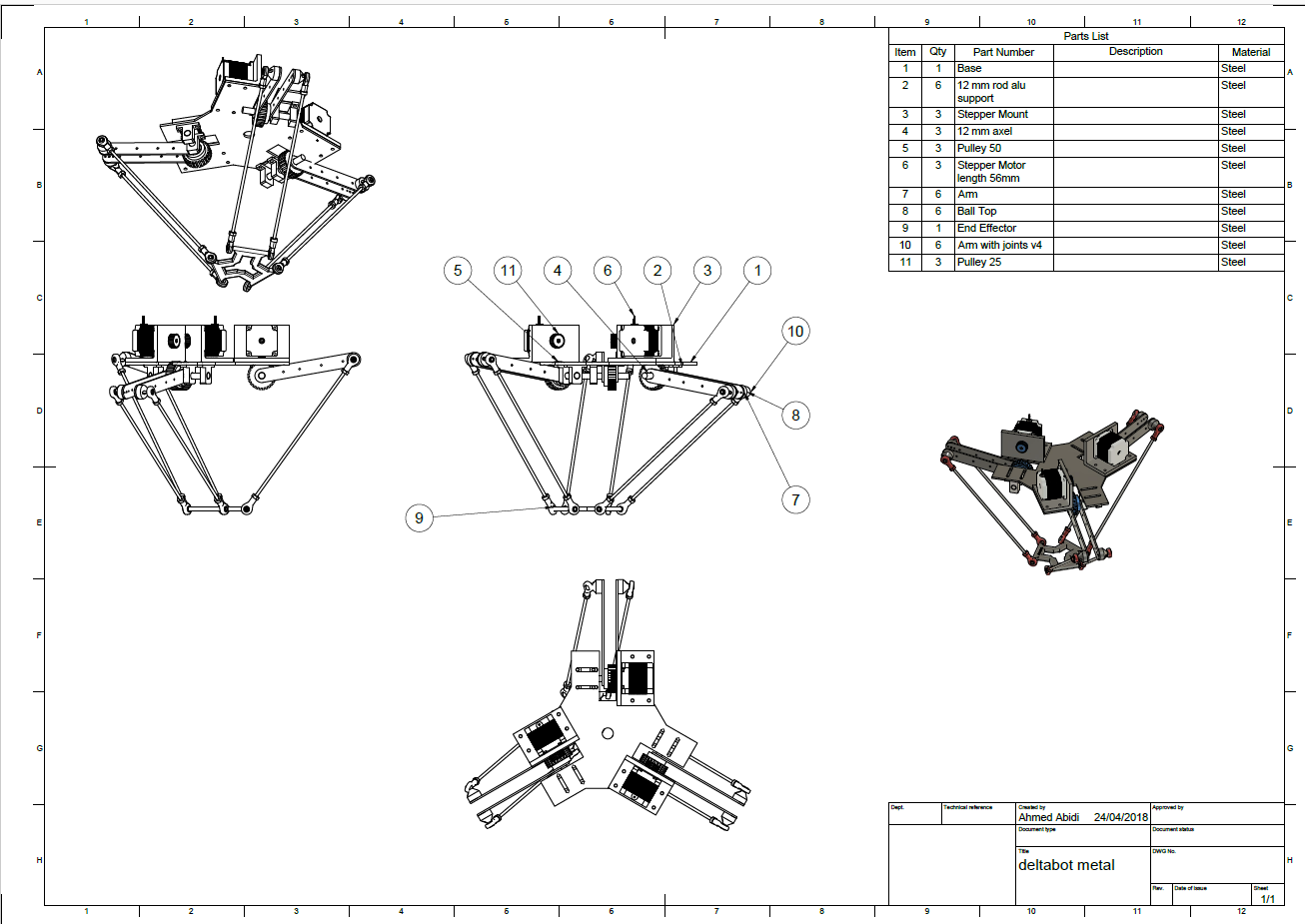 pick and place robot project documentation pdf