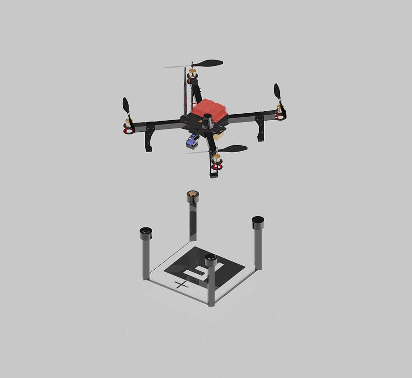 Fiva Drone: Automatic Landing/Charging Quadcopter | Hackaday io