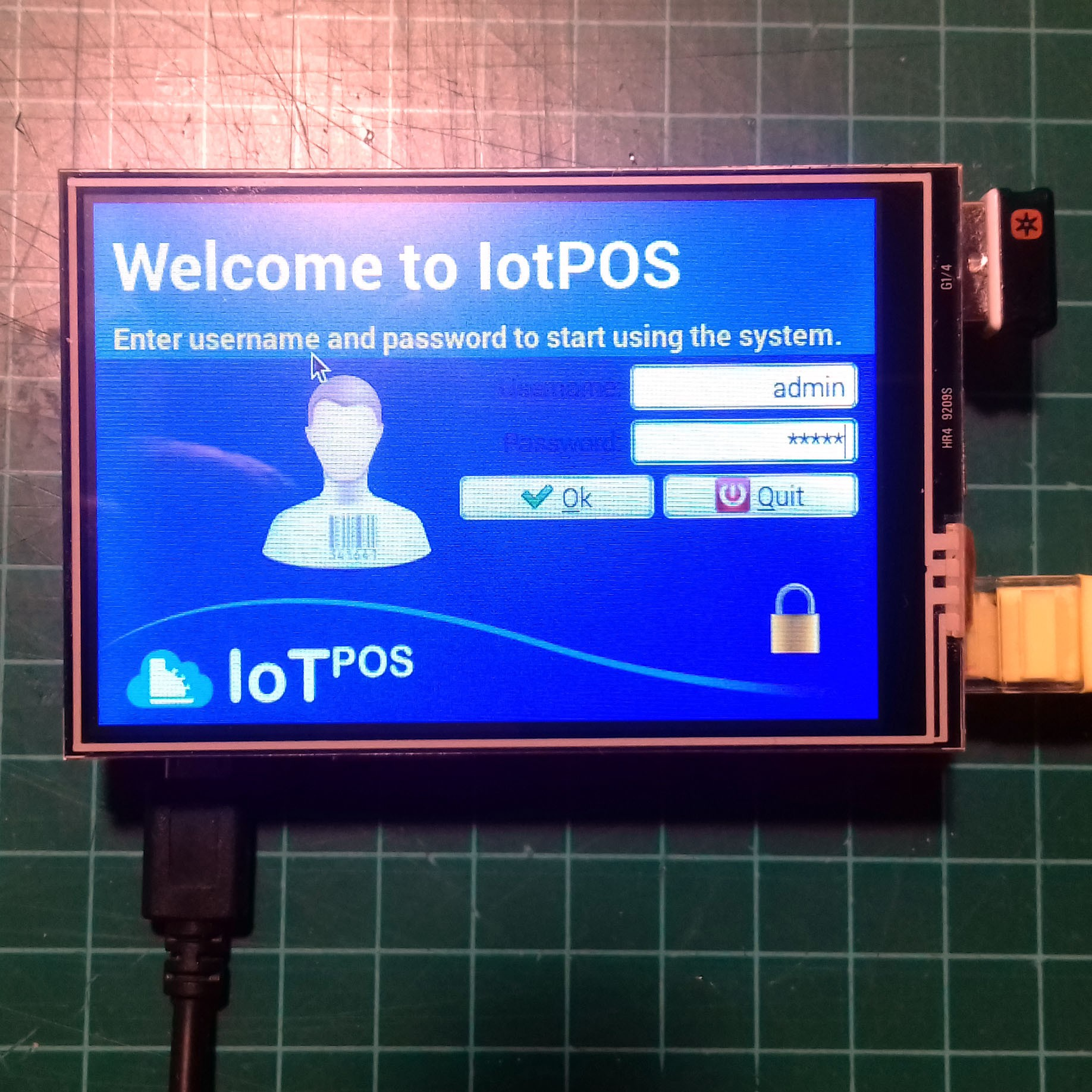IotPOS a Point of Sale for Raspberry Pi | Hackaday io