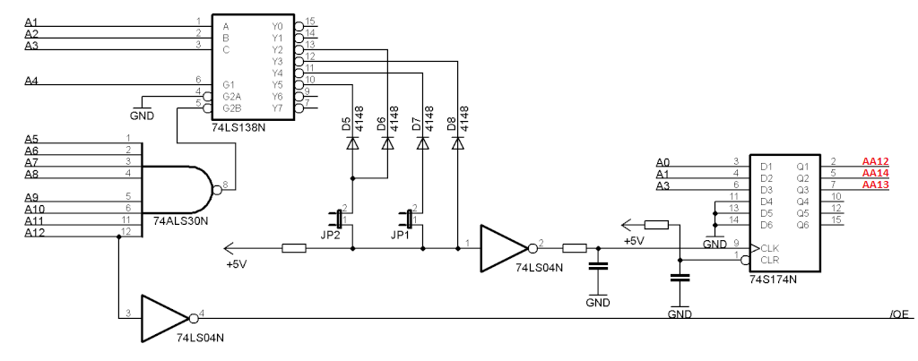 Atari 2600 Bankswitch Cartridge Hackadayiorhhackadayio: Atari Wiring Diagram At Gmaili.net