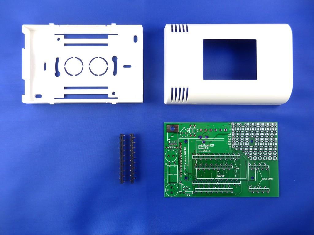 Top Wall Mount Touchscreen for ESP8266 | Hackaday io