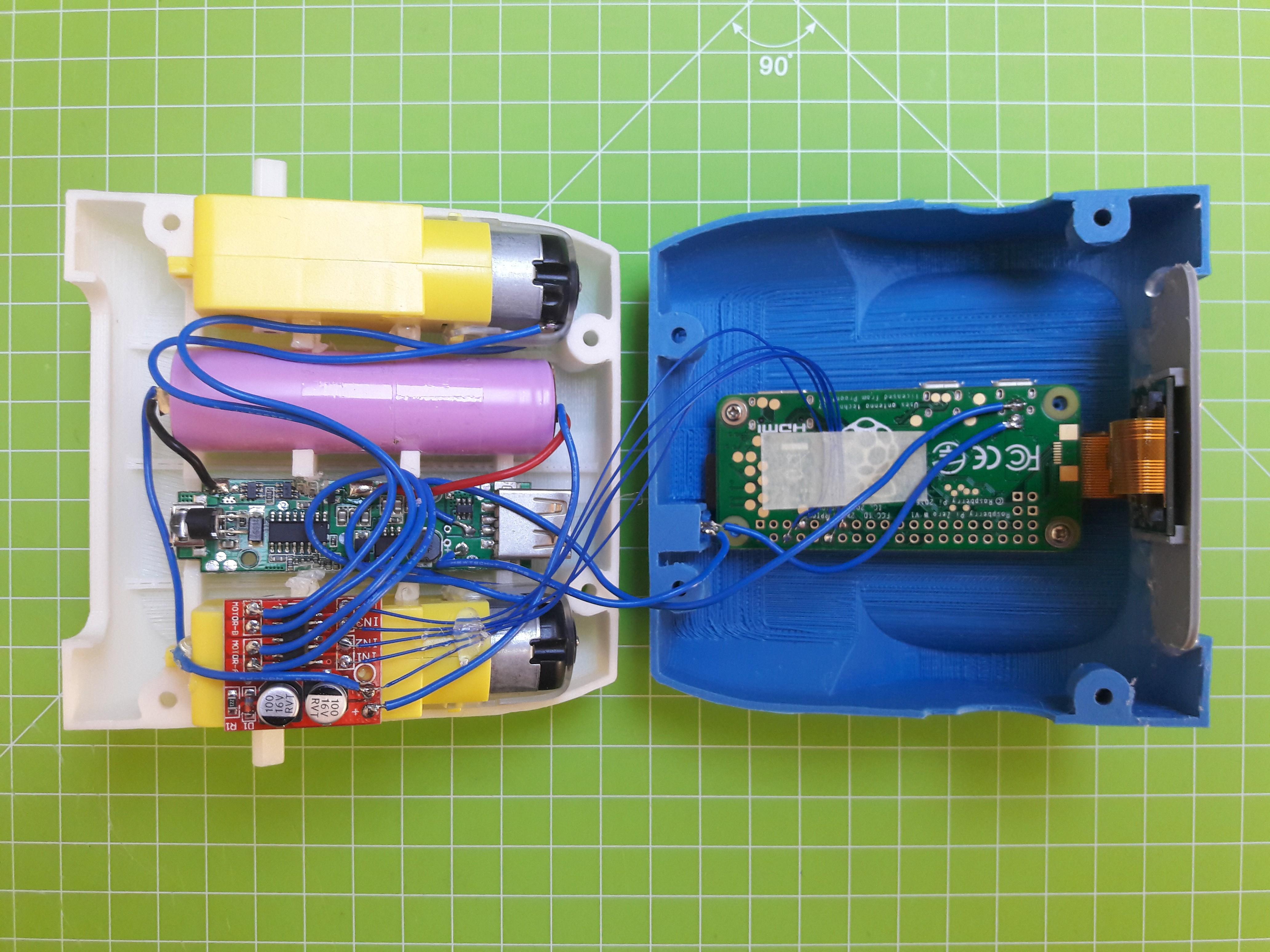 Project | ZeroBot - Raspberry Pi Zero FPV Robot | Hackaday io
