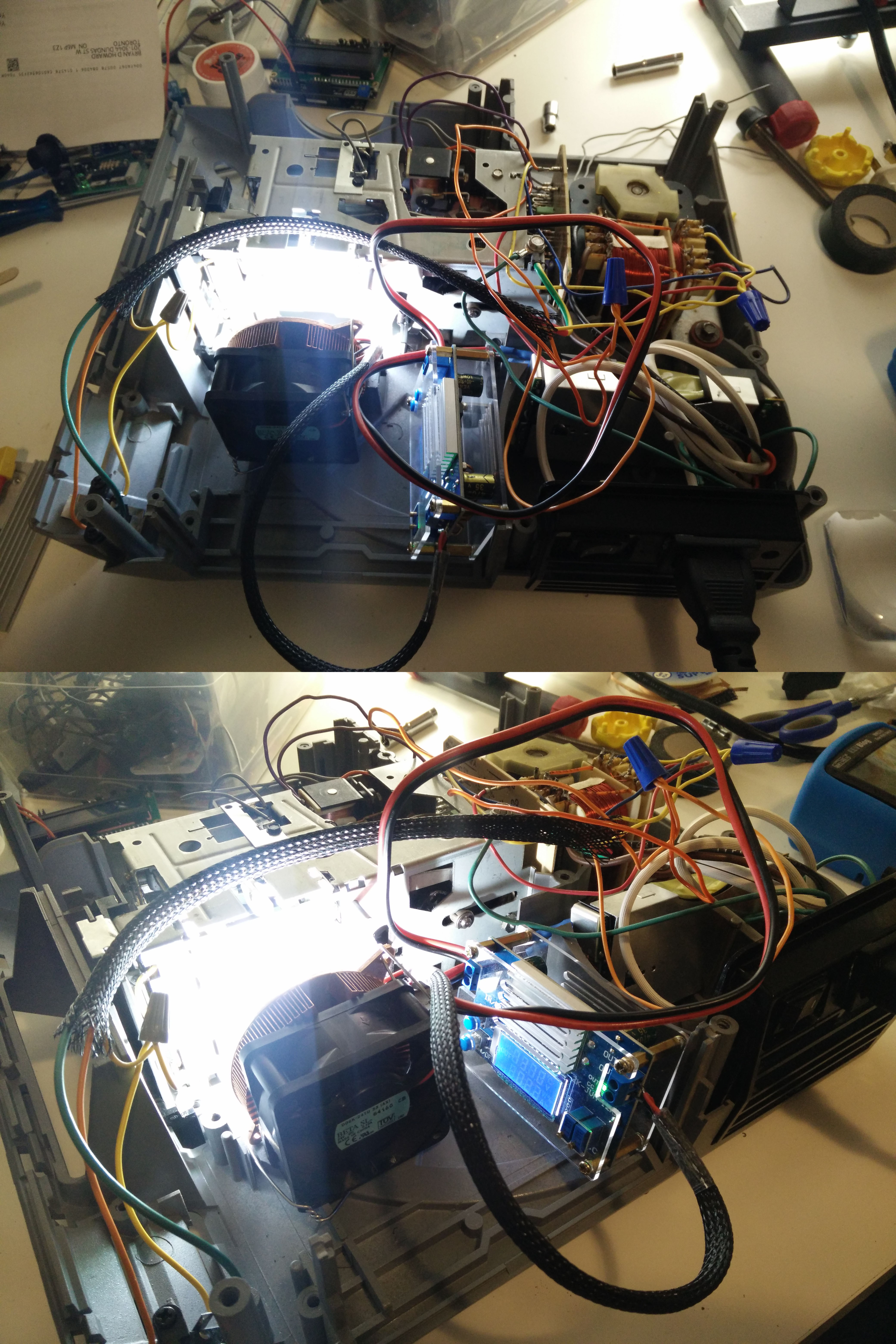 Lighting With Led Details Computer Ac Plug Wiring The Needs Some Form Of Active Cooling To Keep It From Burning Up Im Using A Copper Heatsink An Old Gpu And 24v Fan