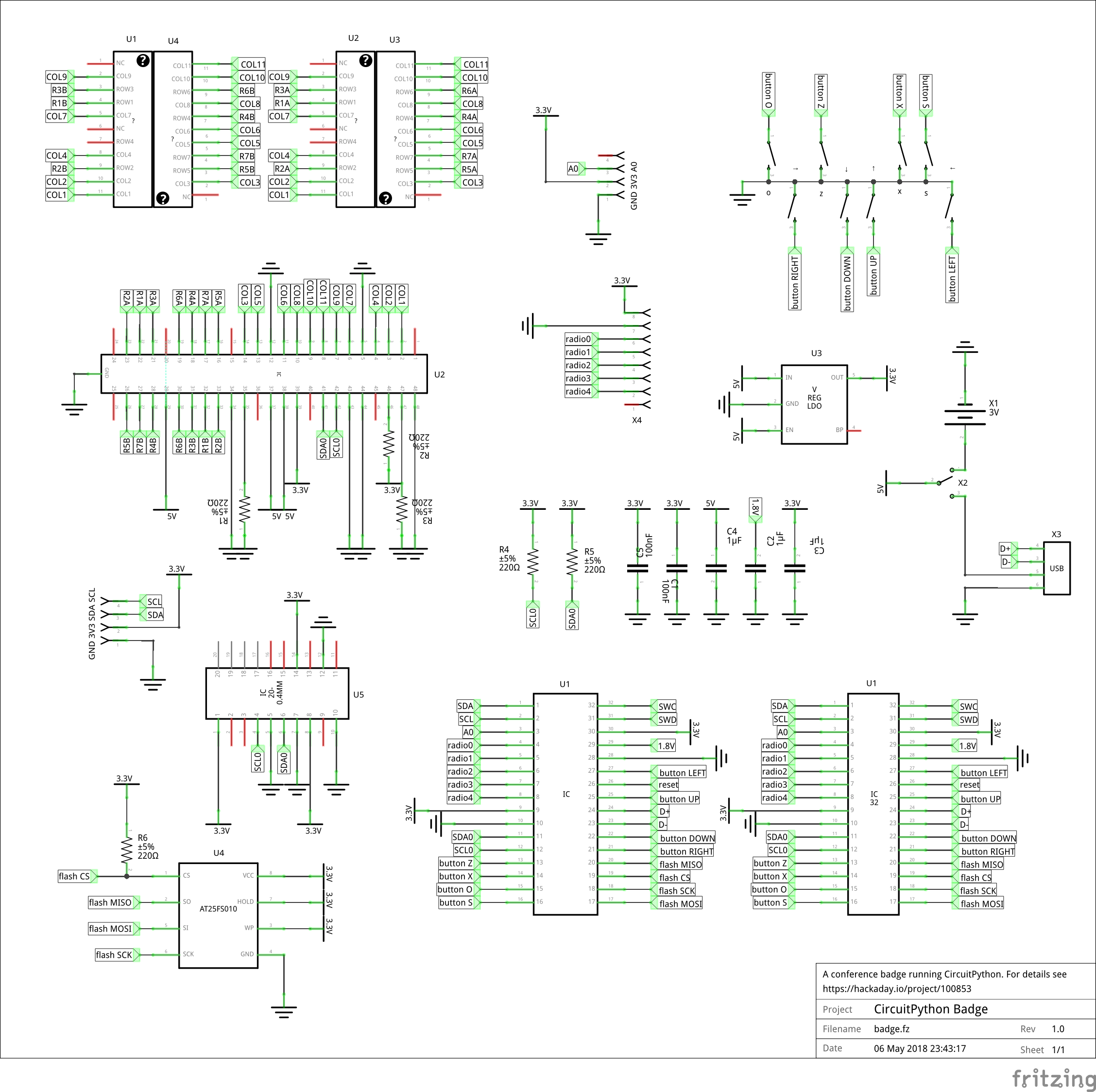 Repository And Schematic Details Accelerometer