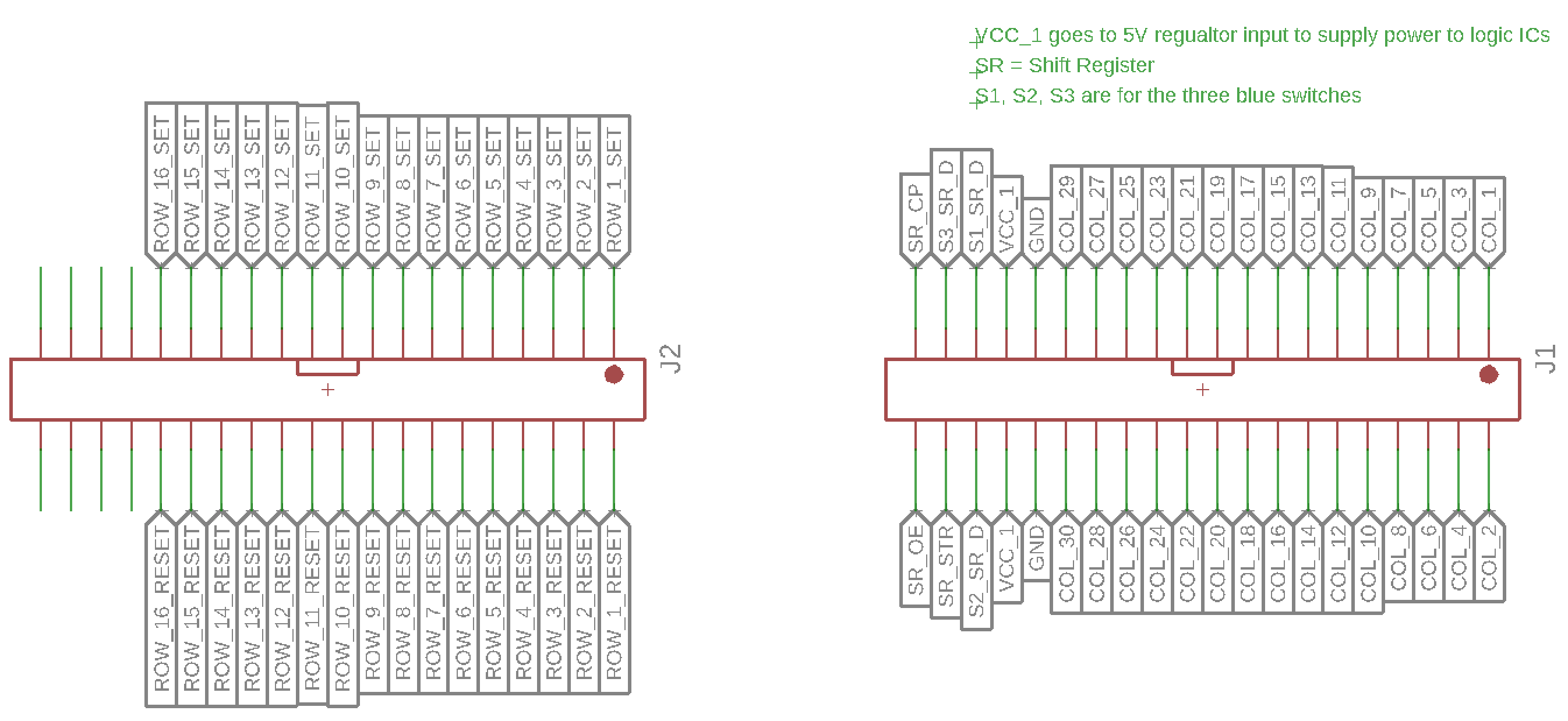 Flip Dot Display Diy Controller Logic Diagram Shift Register And Here Are What Each Pin Is For