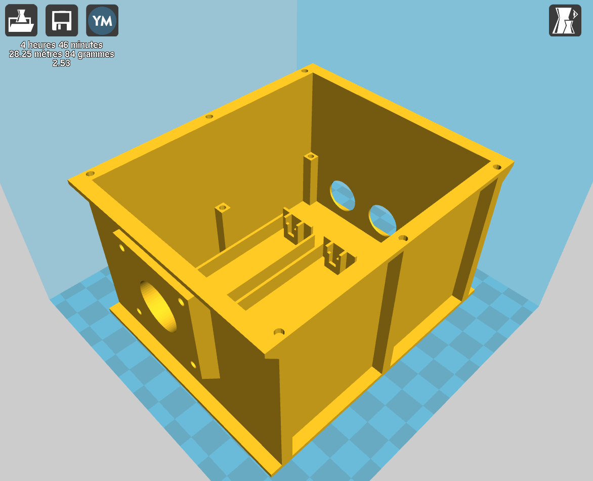 3D printed waterproof enclosure   Details   Hackaday io