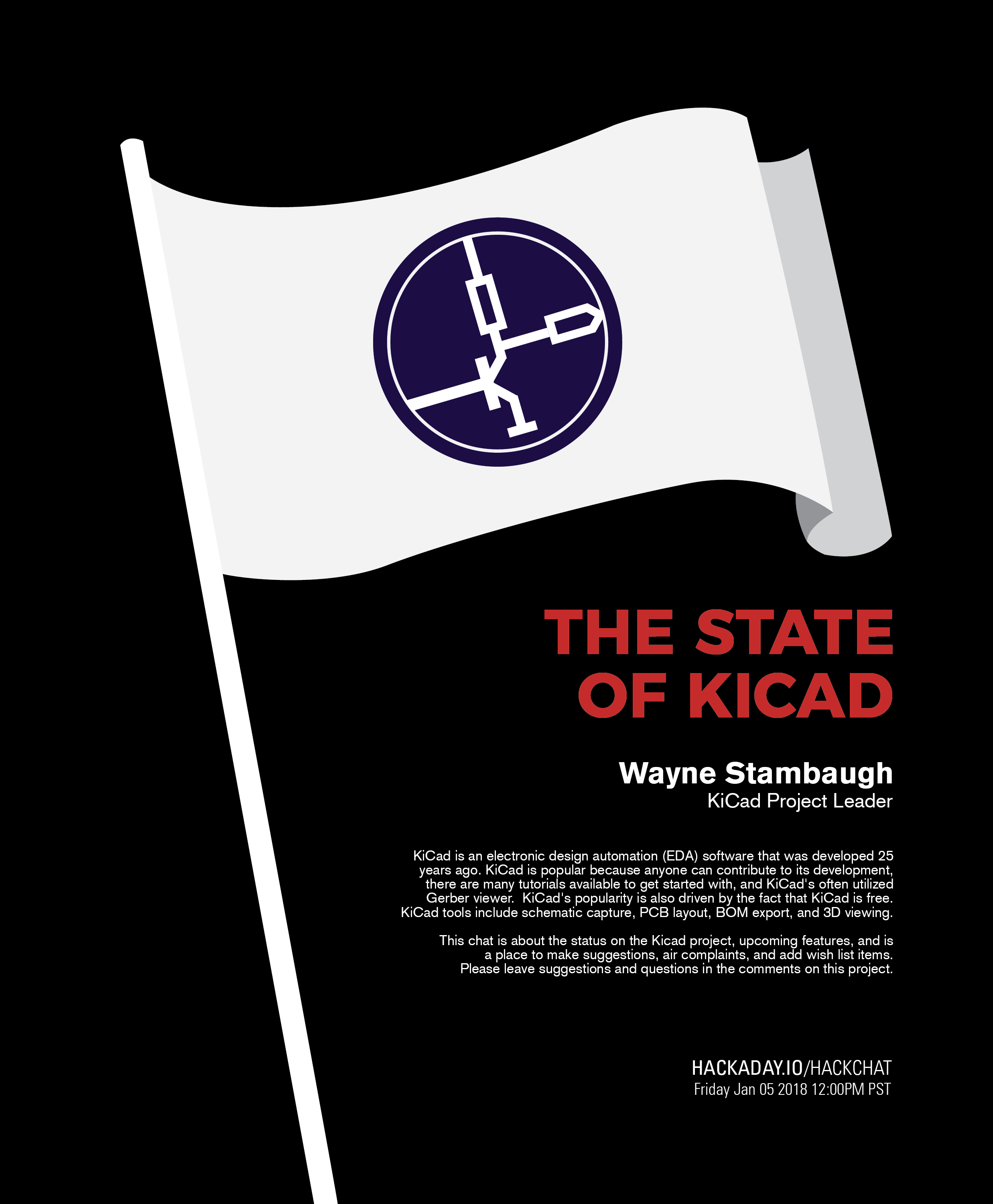 The State Of Kicad Free Electronic Design Software Event Details