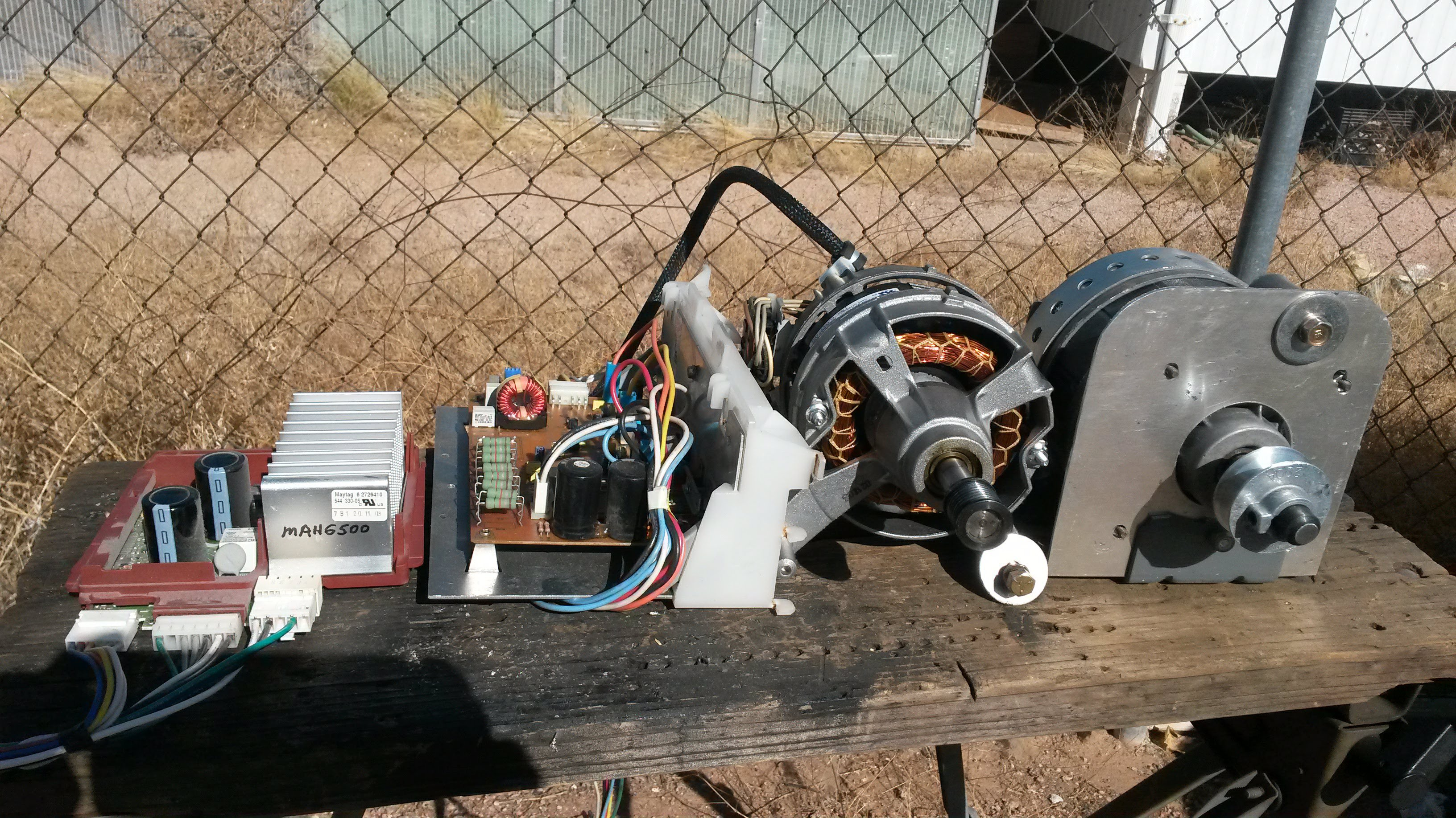 Maytag Neptune Motor Control Generator Project Both Speed Controls Will Work With The Same Pwm Signal Using An Arduino Or To Produce