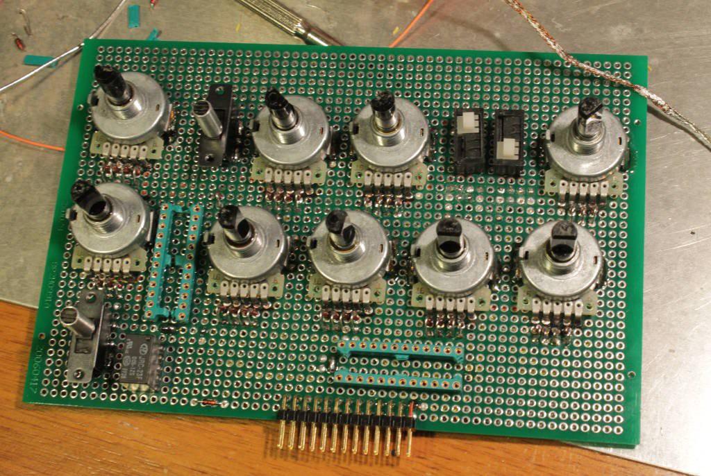 First DRAM array prototype   Details   Hackaday io