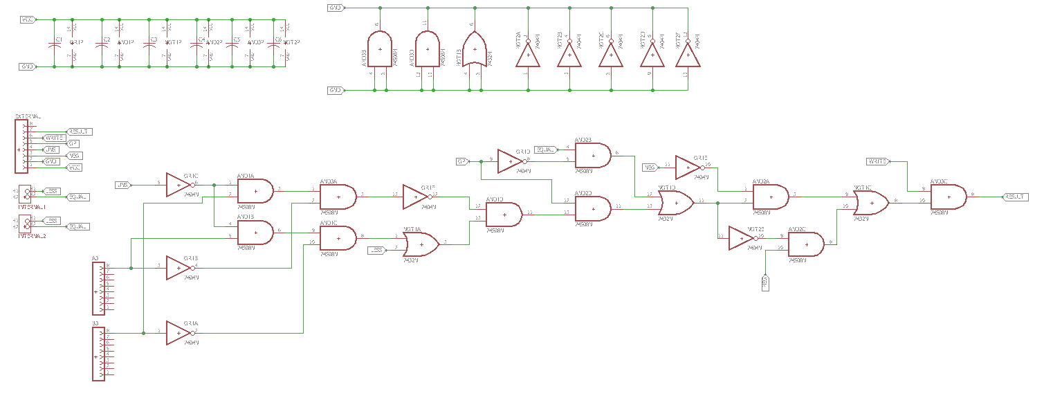 Worlds First 32bit Homebrew Cpu Logic Diagram Isa 5 2 Here Is The For Bottom Board