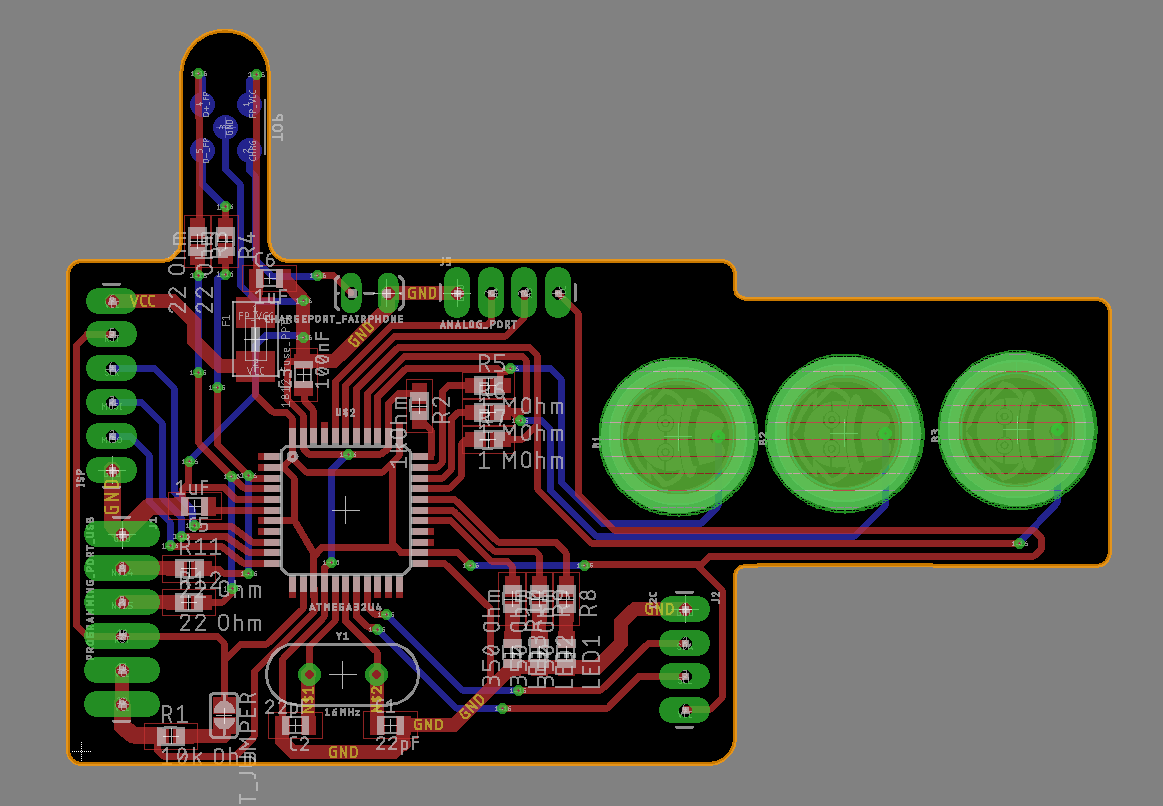Hacking A Fairphone Diy Pcb How To Create Your Printed Circuit Board O Hackadayio Tada And This Is The Its Not Completely Finished But I Think Definitly On Good Way If You Notice Some Issues Or Have Ideas About Project