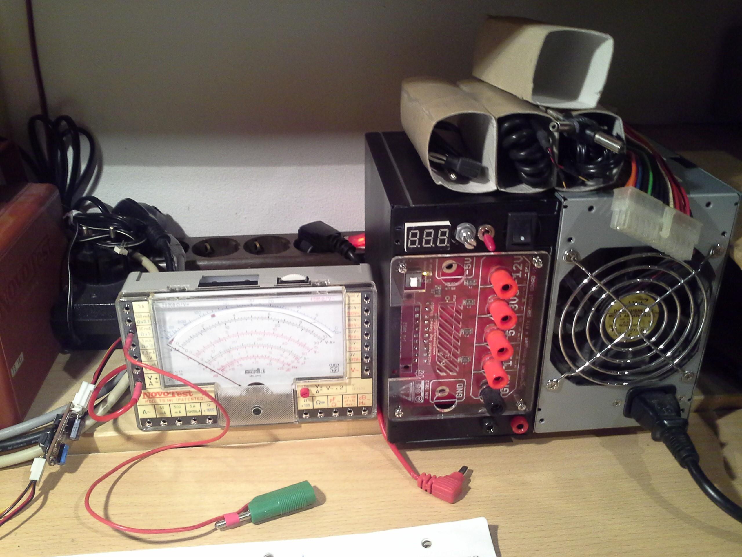 ATX Bench PSU v1 | Details | Hackaday io