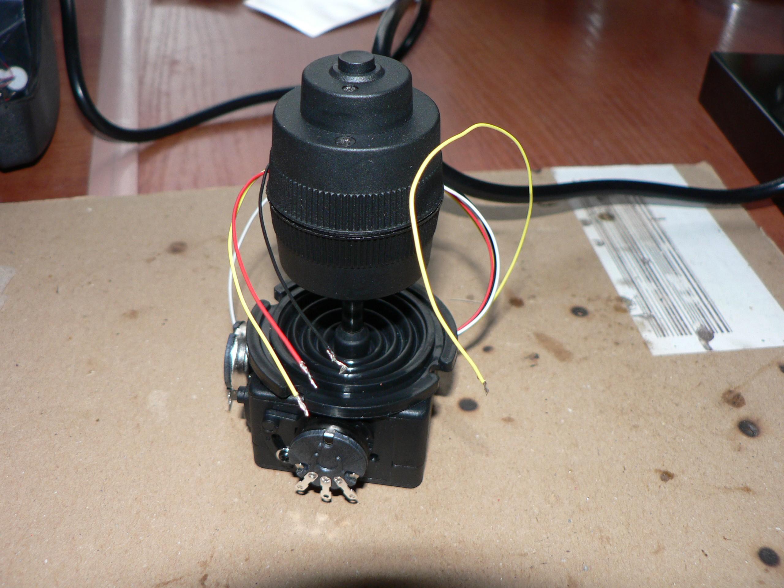 Another joystick update - 3 axis controller | Details | Hackaday io