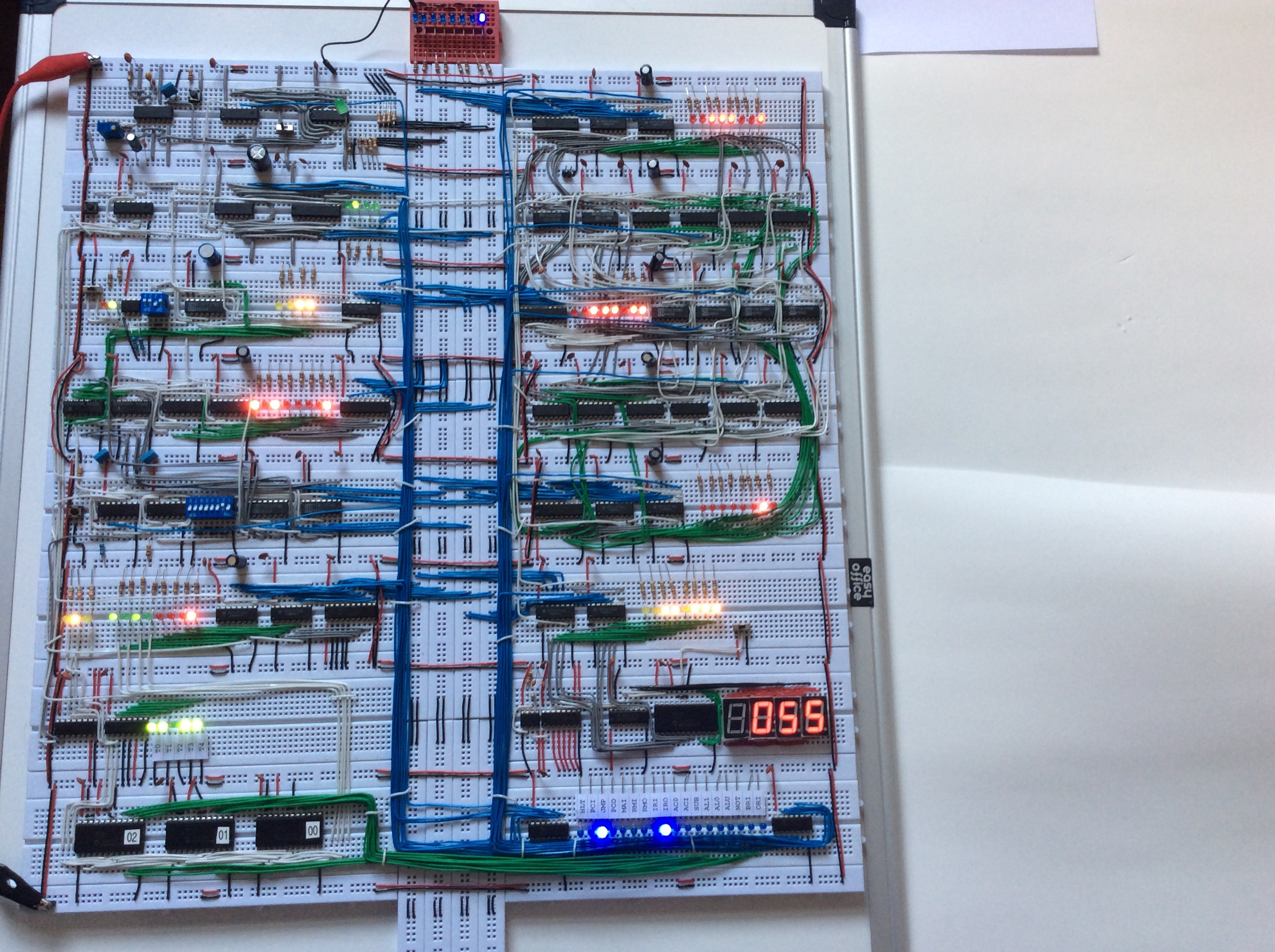 8 Bit Computer Build Juragansynopsis Electronics 7segment Led Clock Page 4 Bittechnet Forums An Gallery Back To Project View Full Size